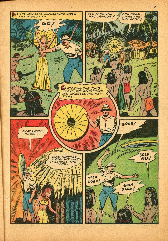 Read online Super-Magician Comics comic -  Issue #9 - 9