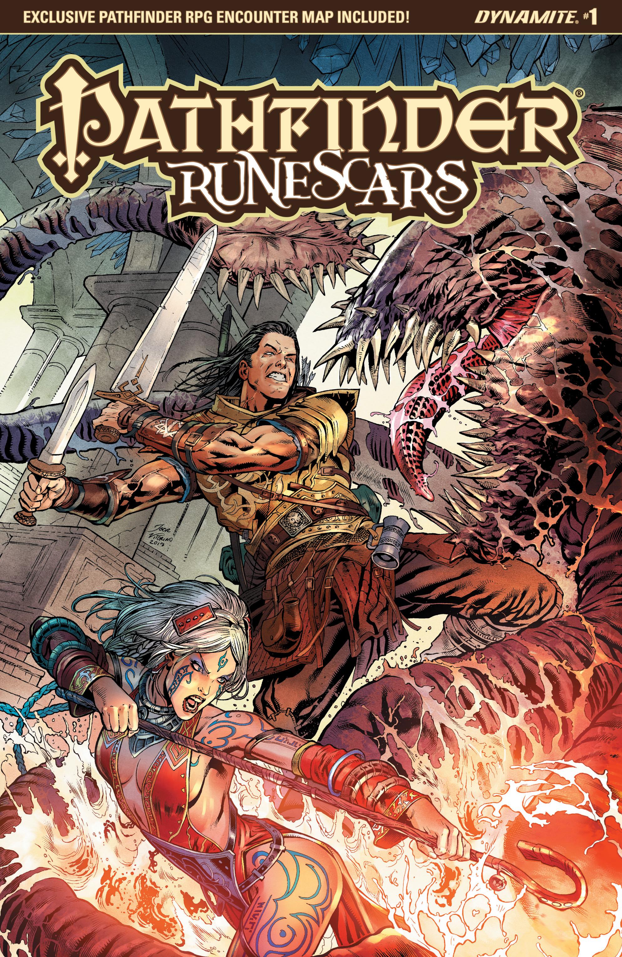 Read online Pathfinder: Runescars comic -  Issue #1 - 3