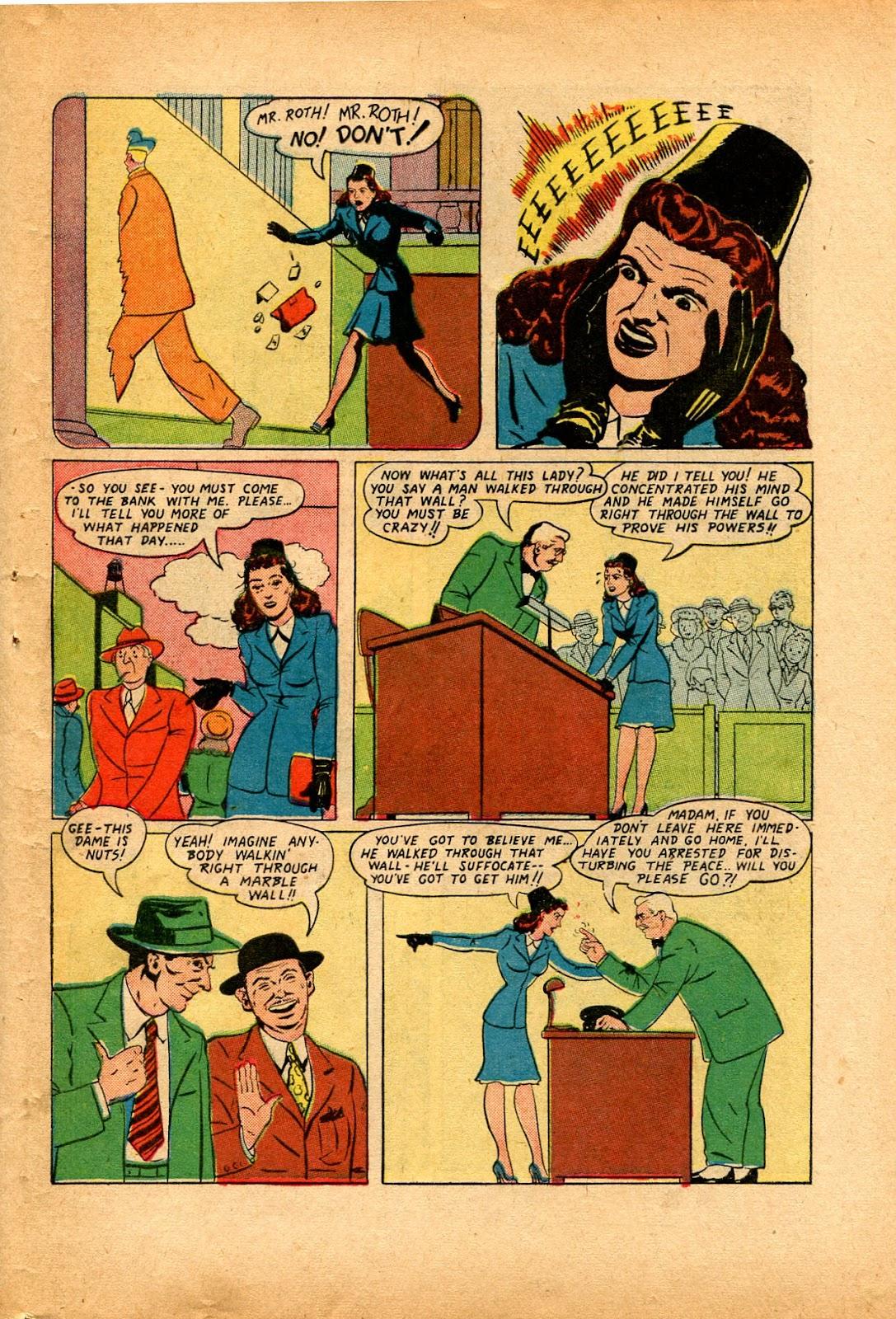 Read online Super-Magician Comics comic -  Issue #33 - 35