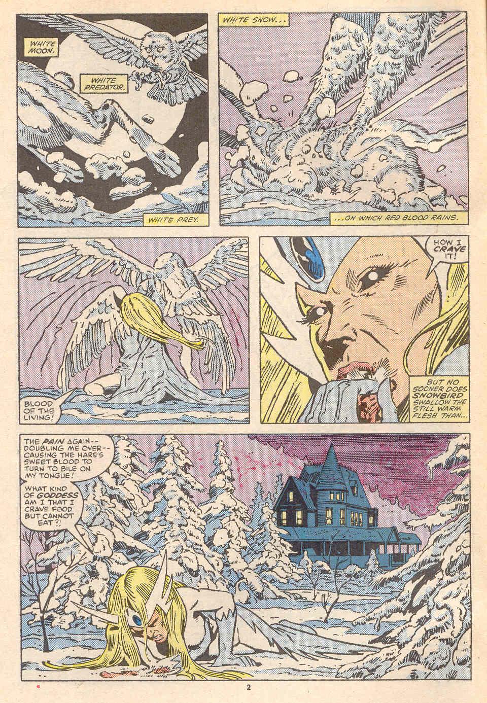 Read online Alpha Flight (1983) comic -  Issue #36 - 3