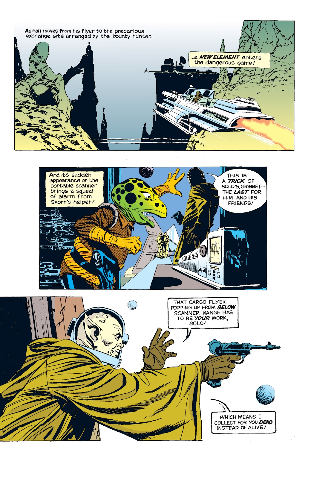 Read online Star Wars Legends: The Newspaper Strips - Epic Collection comic -  Issue # TPB (Part 5) - 13