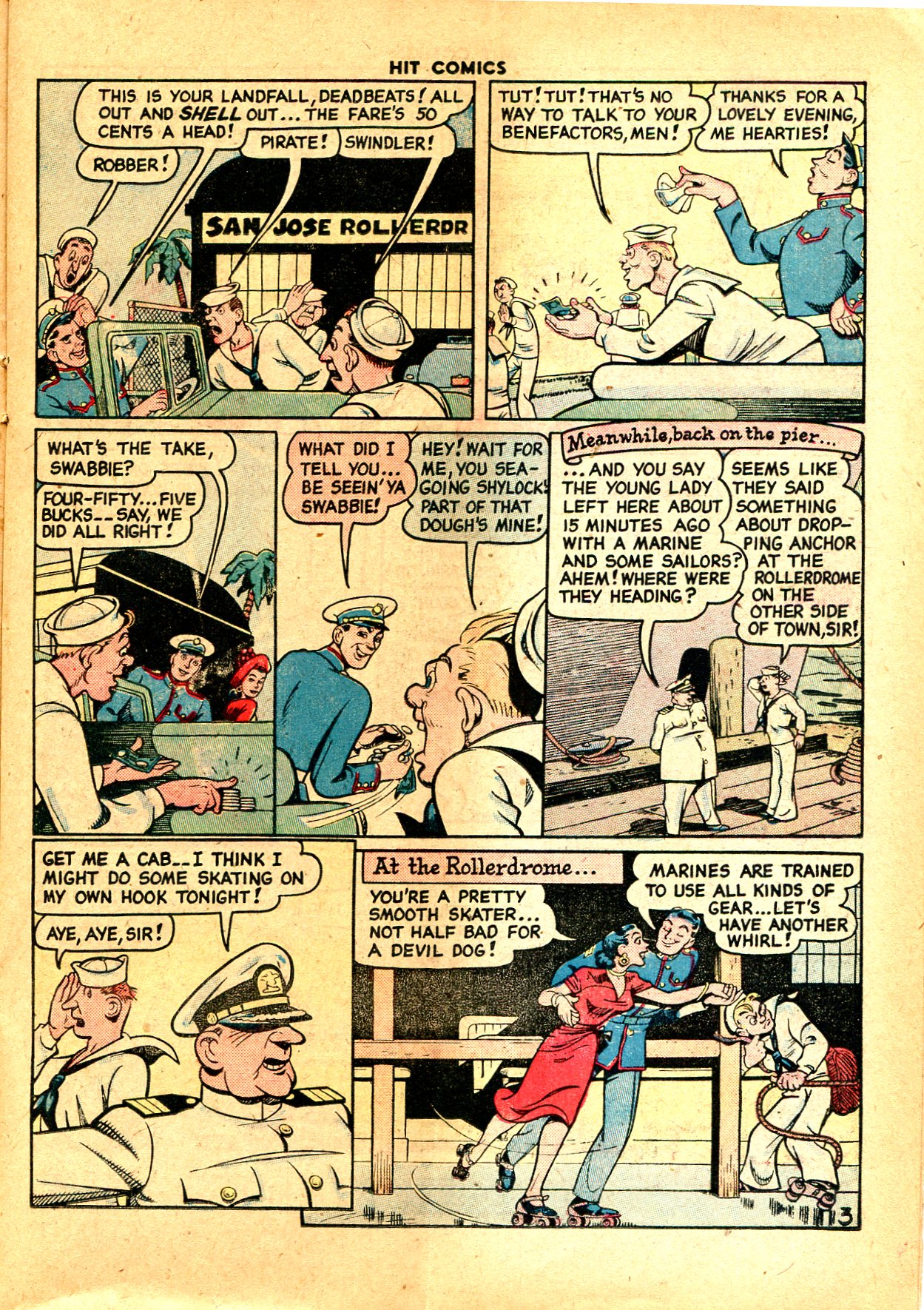 Read online Hit Comics comic -  Issue #57 - 23