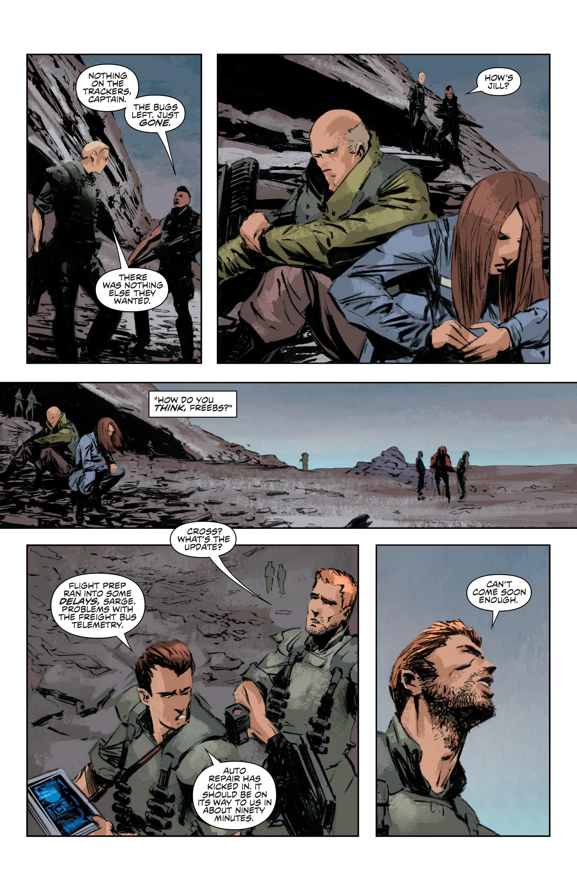 Read online Alien Vs. Predator: Life and Death comic -  Issue #4 - 16