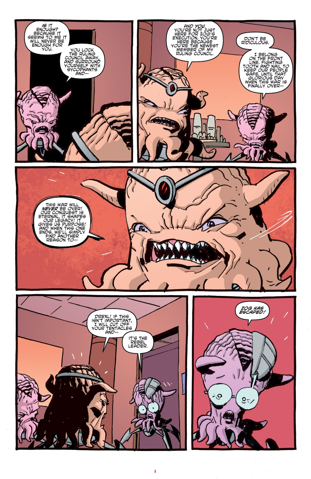 Read online Teenage Mutant Ninja Turtles: The IDW Collection comic -  Issue # TPB 4 (Part 1) - 83