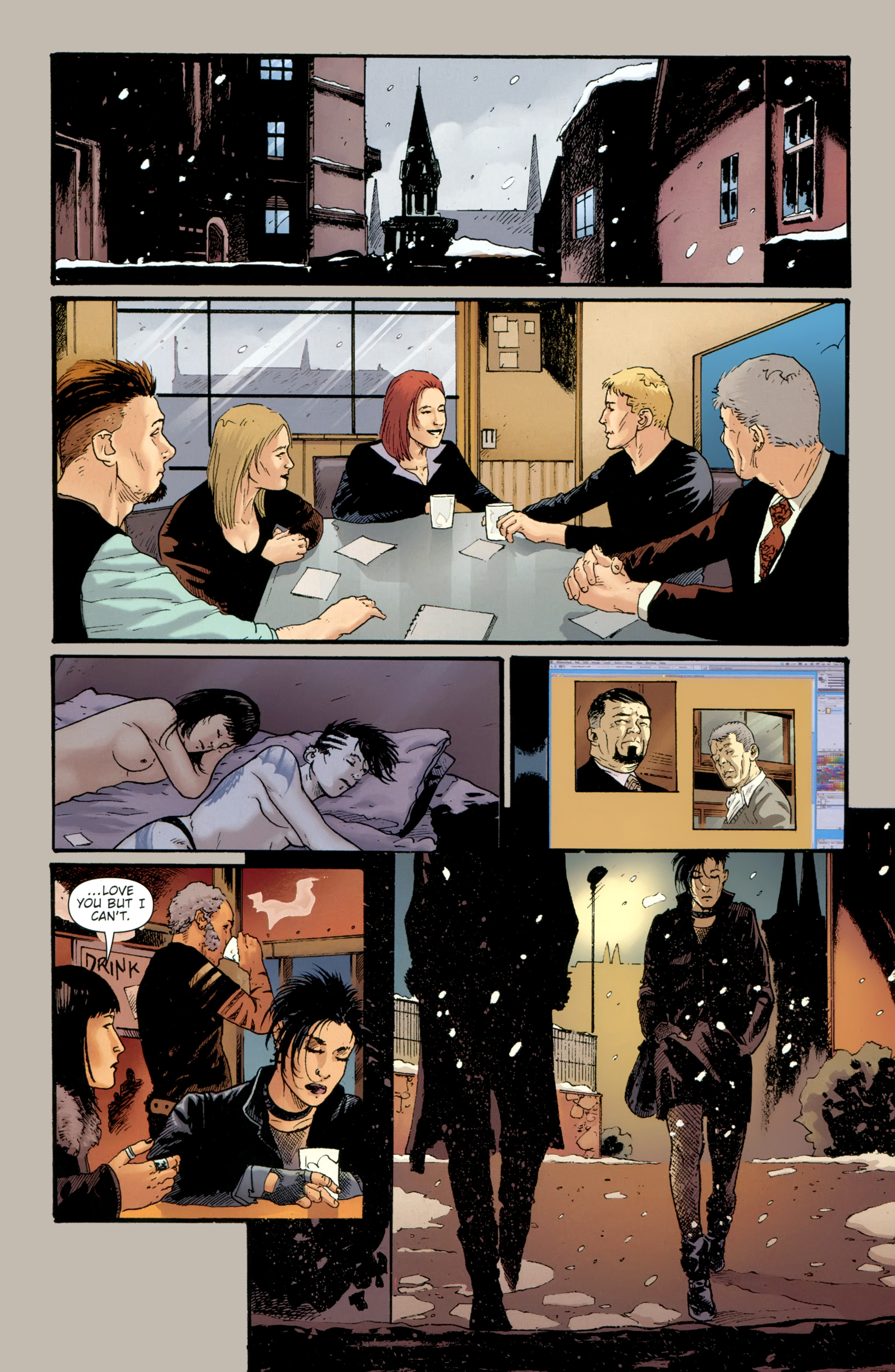 Read online The Girl With the Dragon Tattoo comic -  Issue # TPB 2 - 147