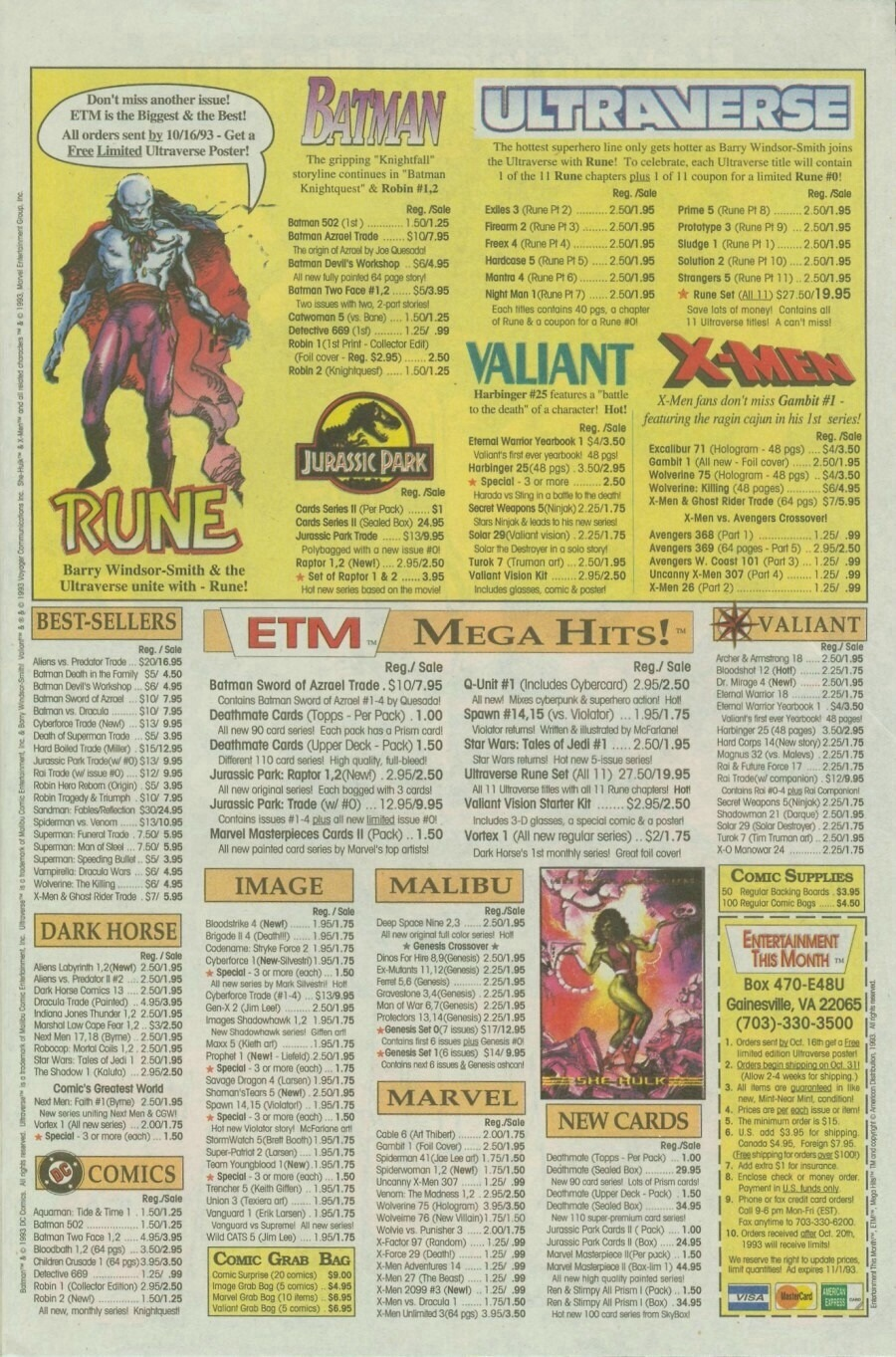 Read online Ex-Mutants comic -  Issue #10 - 10