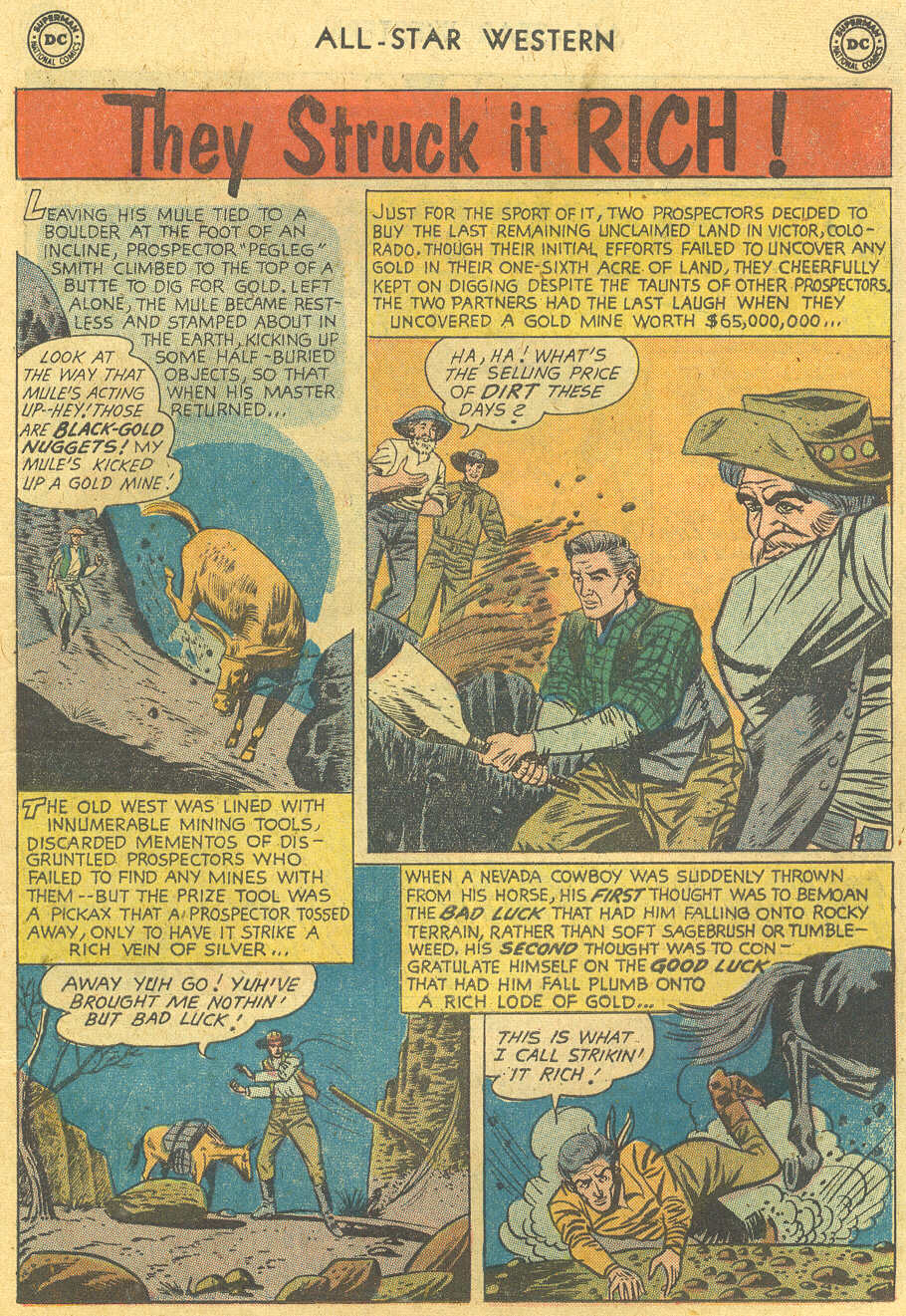 Read online All-Star Western (1951) comic -  Issue #114 - 15
