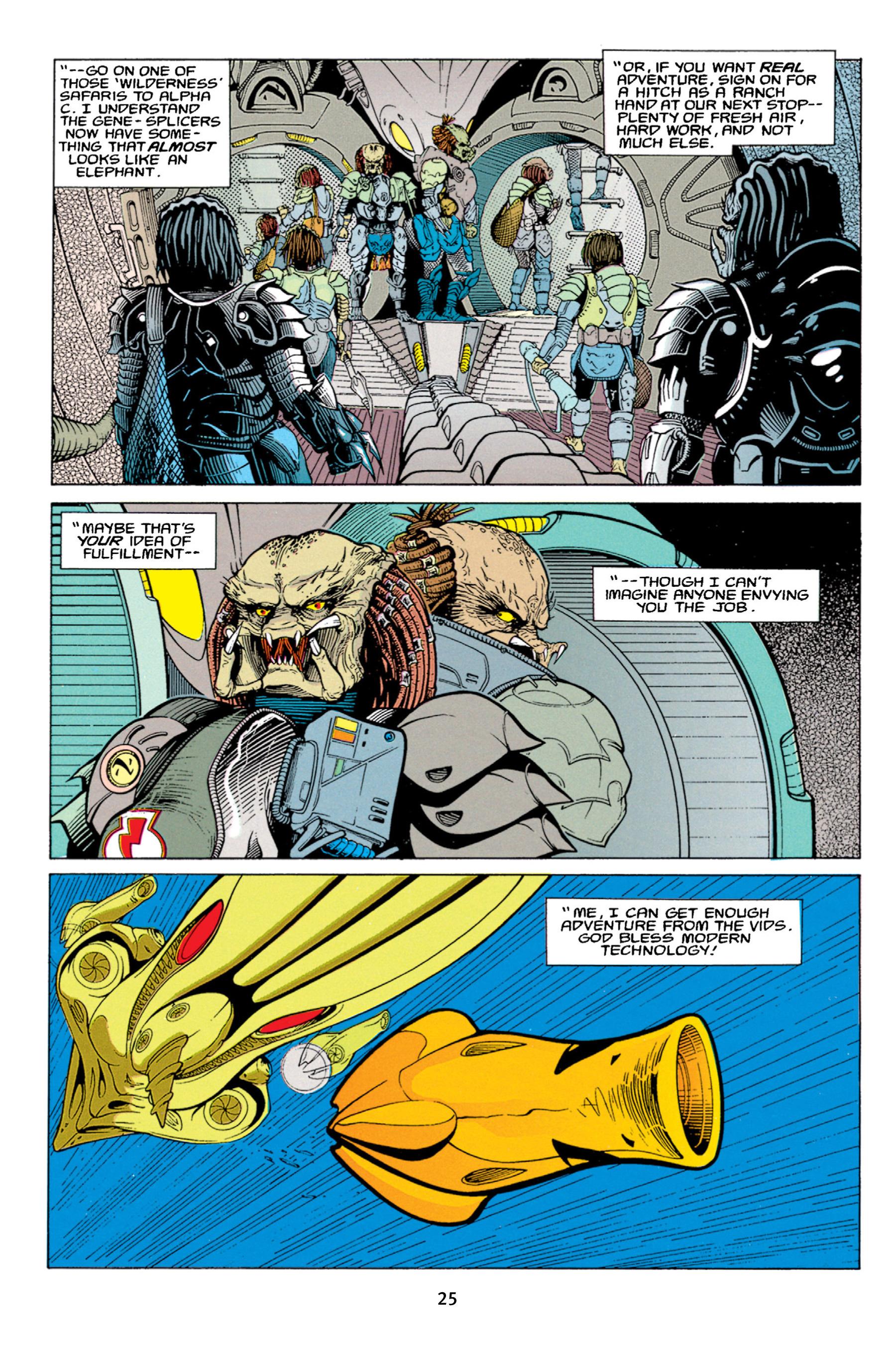 Read online Aliens vs. Predator Omnibus comic -  Issue # _TPB 1 Part 1 - 25