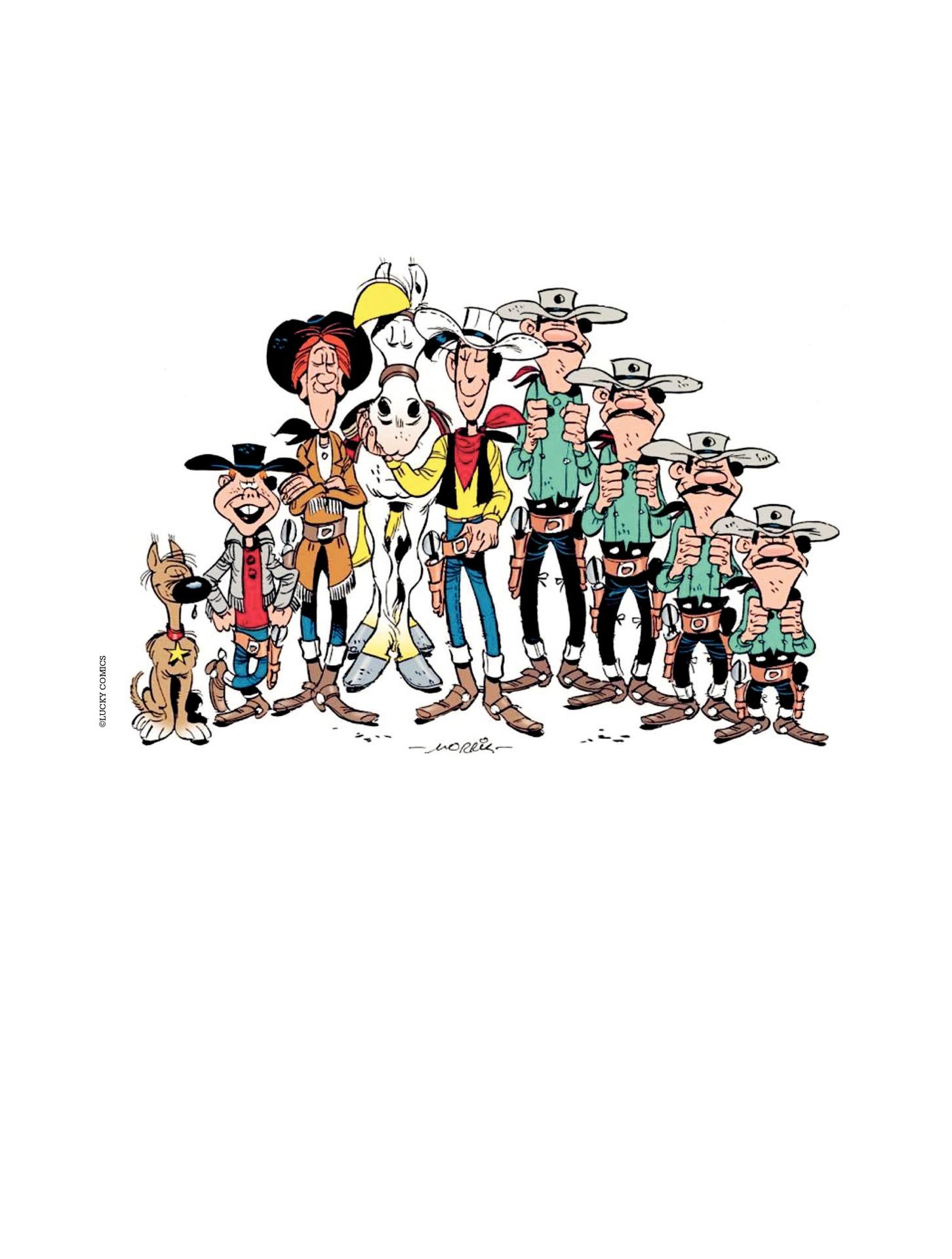 Read online A Lucky Luke Adventure comic -  Issue #55 - 48