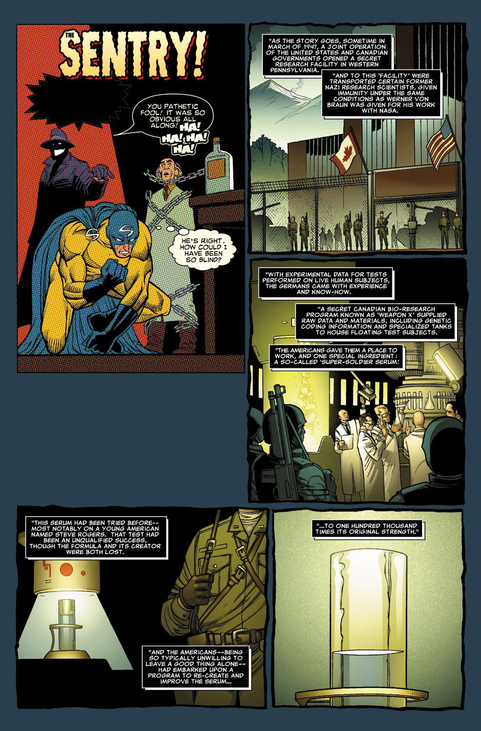 Read online Sentry (2006) comic -  Issue #8 - 16