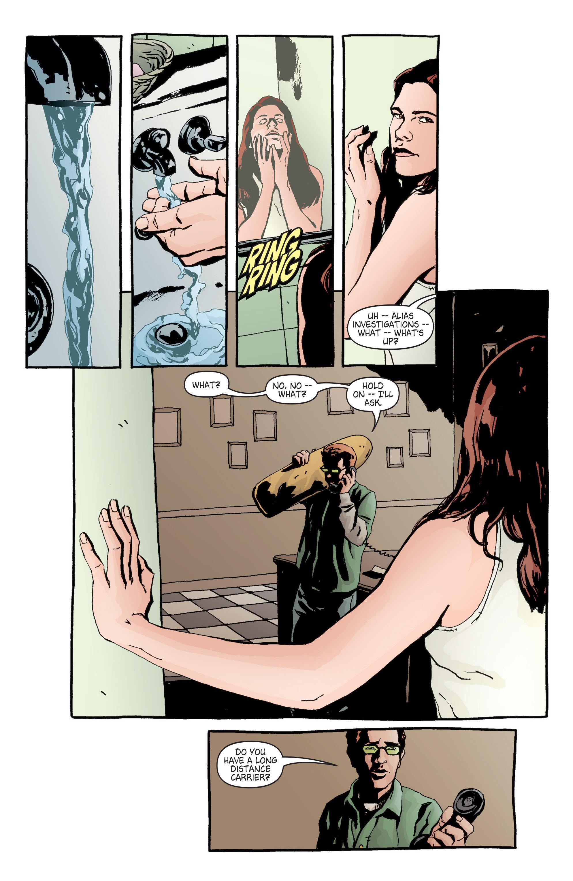 Read online Alias comic -  Issue #6 - 16