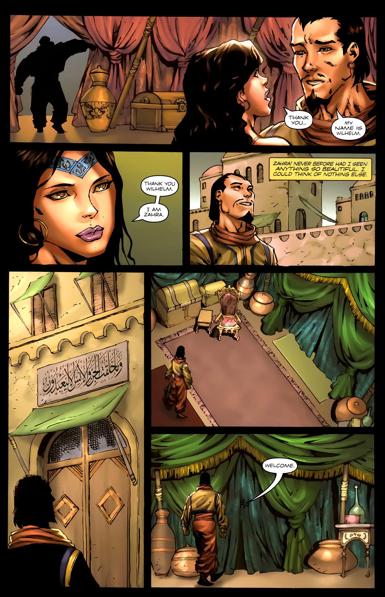 Read online 1001 Arabian Nights: The Adventures of Sinbad comic -  Issue #7 - 10