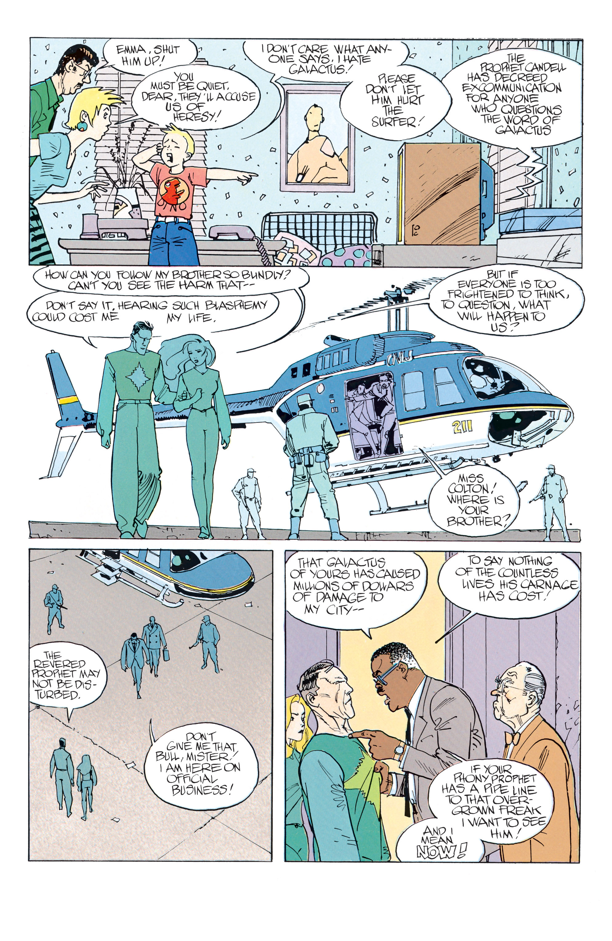 Read online Silver Surfer: Parable comic -  Issue # TPB - 35