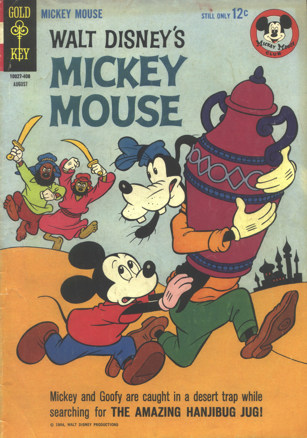 Walt Disney's Mickey Mouse issue 96 - Page 1