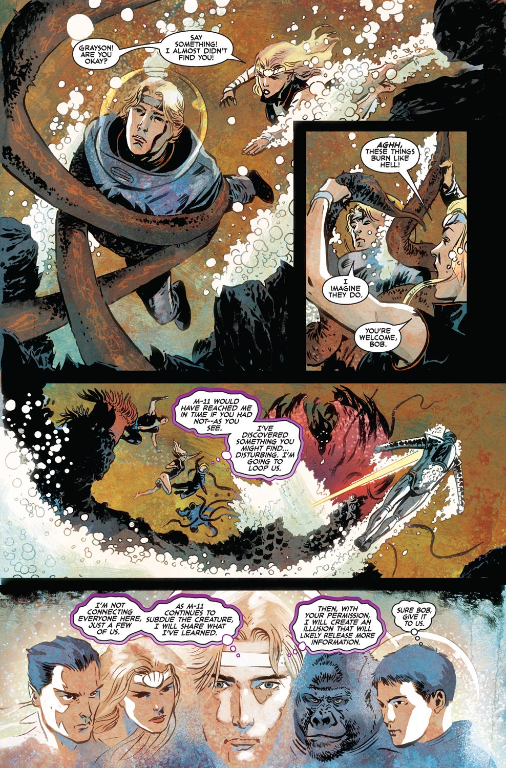 Read online Agents Of Atlas (2009) comic -  Issue #7 - 11