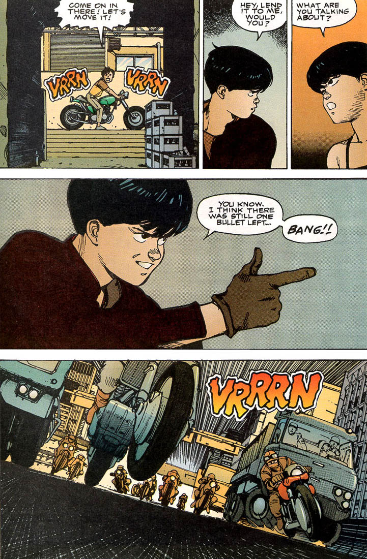 Read online Akira comic -  Issue #5 - 47