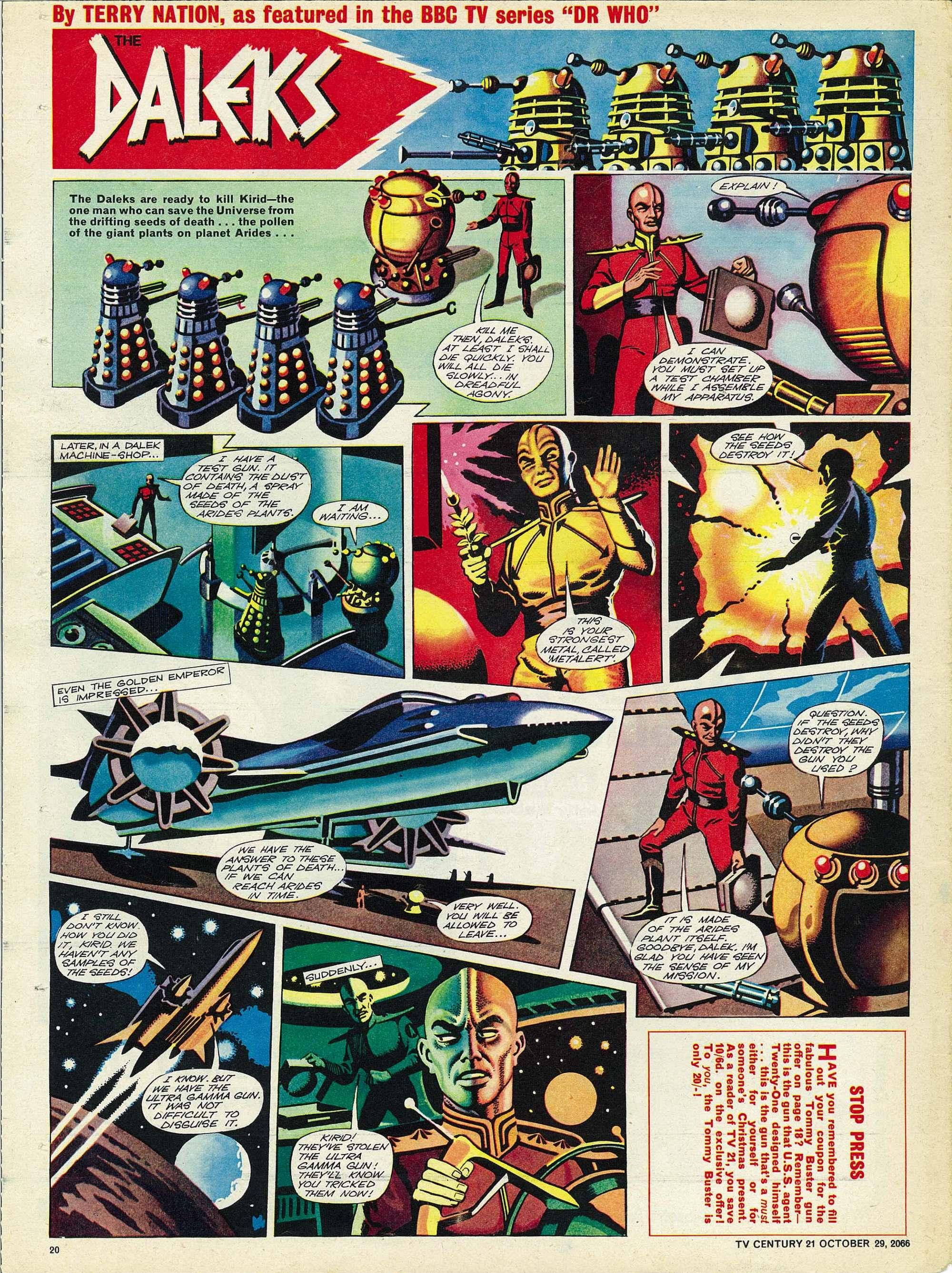 Read online TV Century 21 (TV 21) comic -  Issue #93 - 19