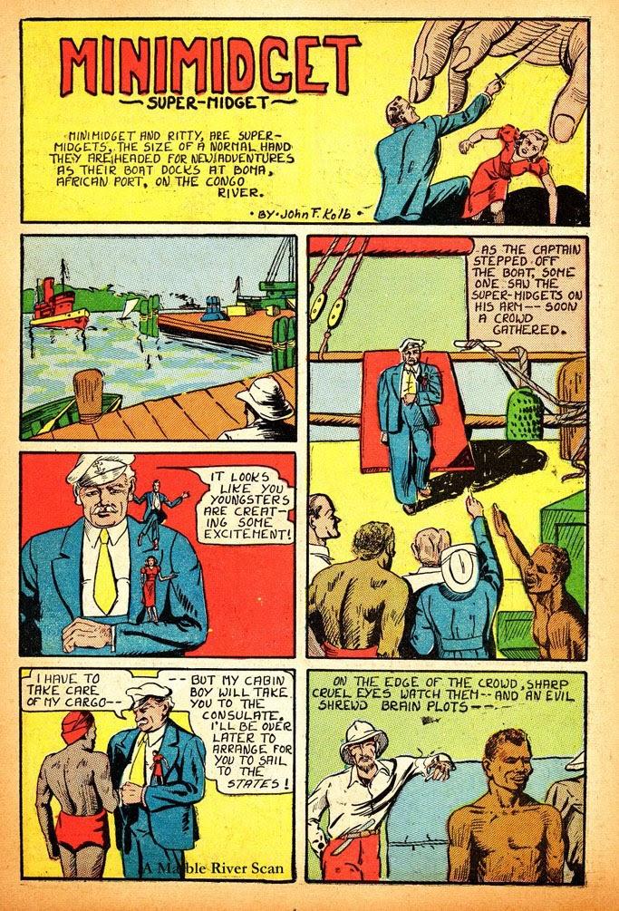 Read online Amazing Man Comics comic -  Issue #12 - 19