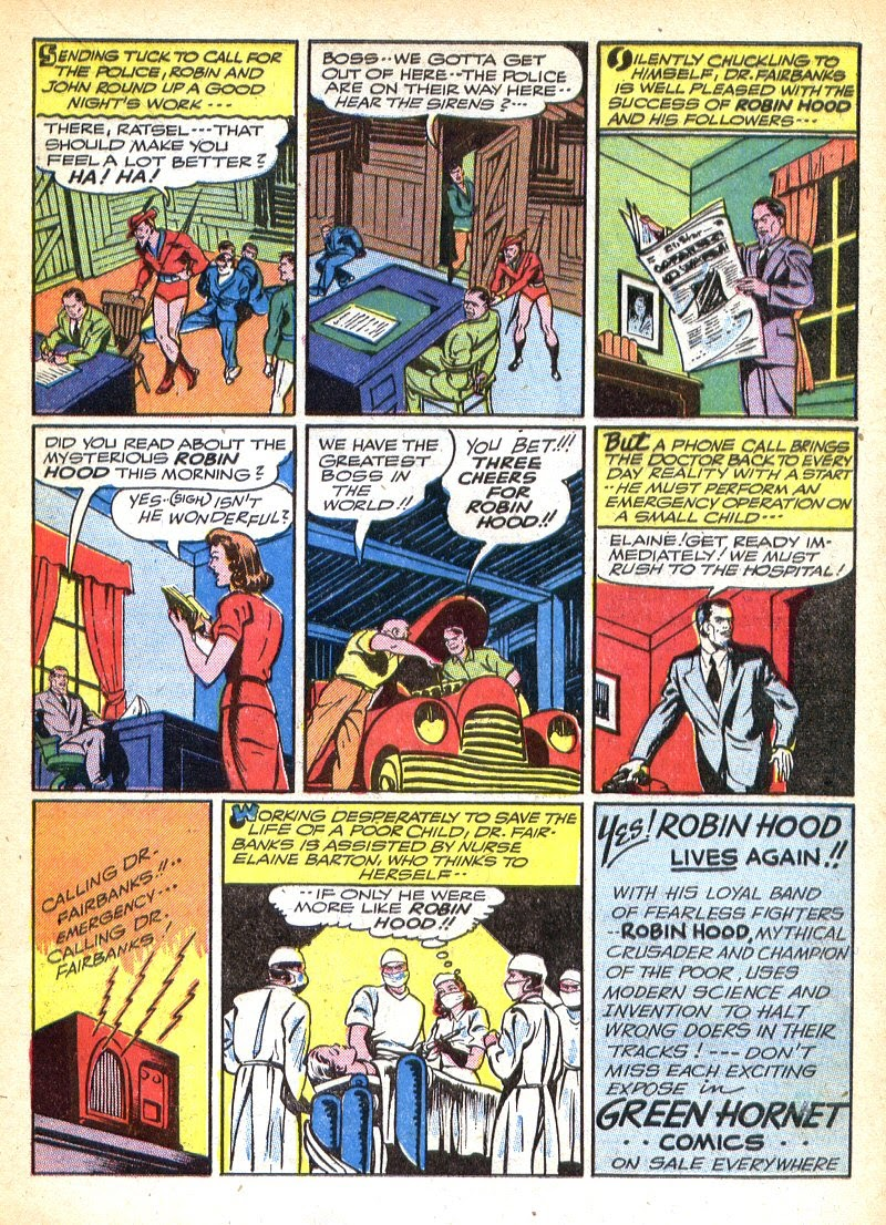 Green Hornet Comics issue 7 - Page 36