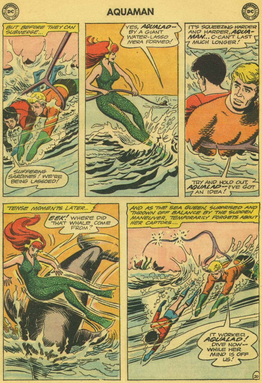 Read online Aquaman (1962) comic -  Issue #13 - 27
