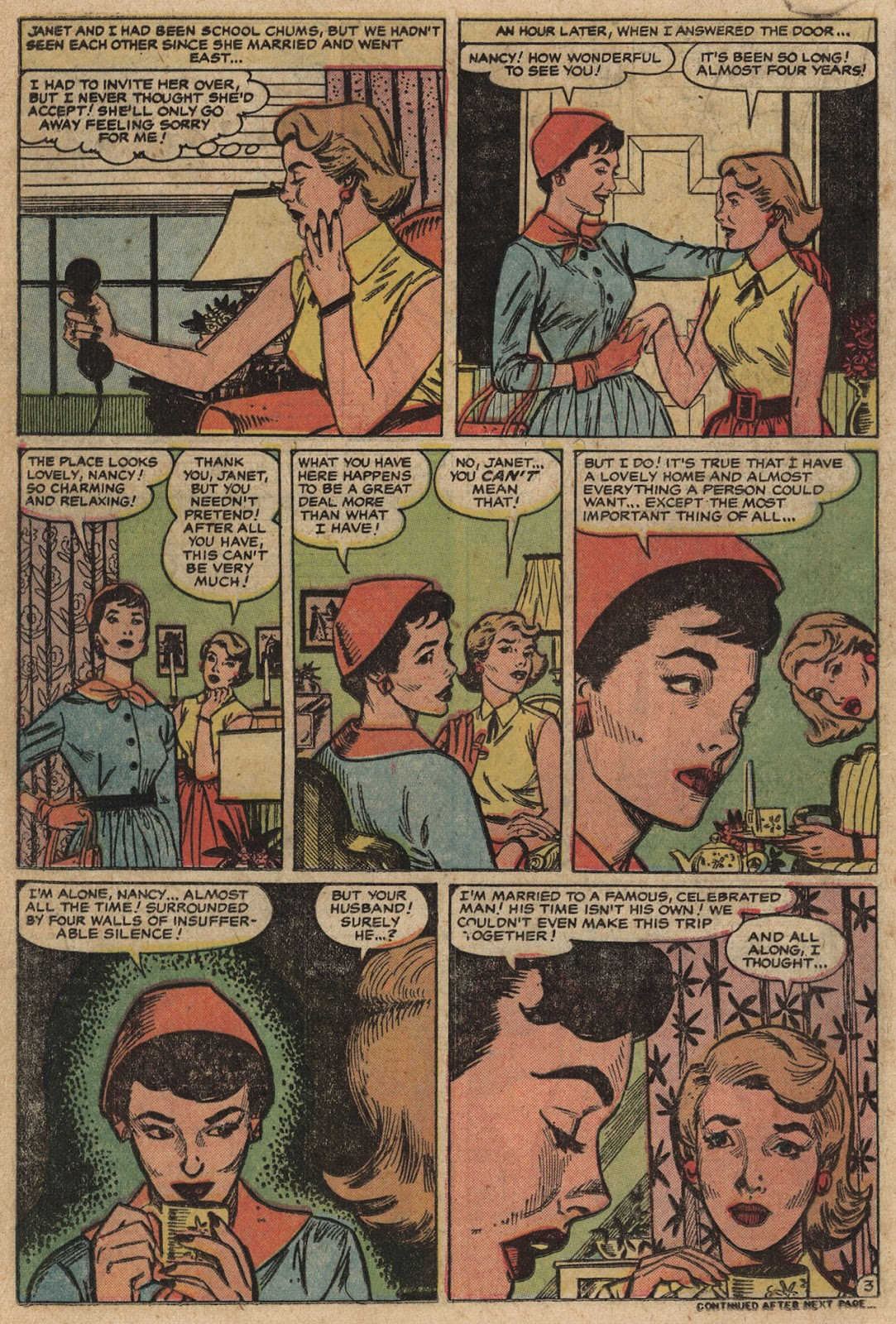 Love Romances (1949) issue 66 - Page 18