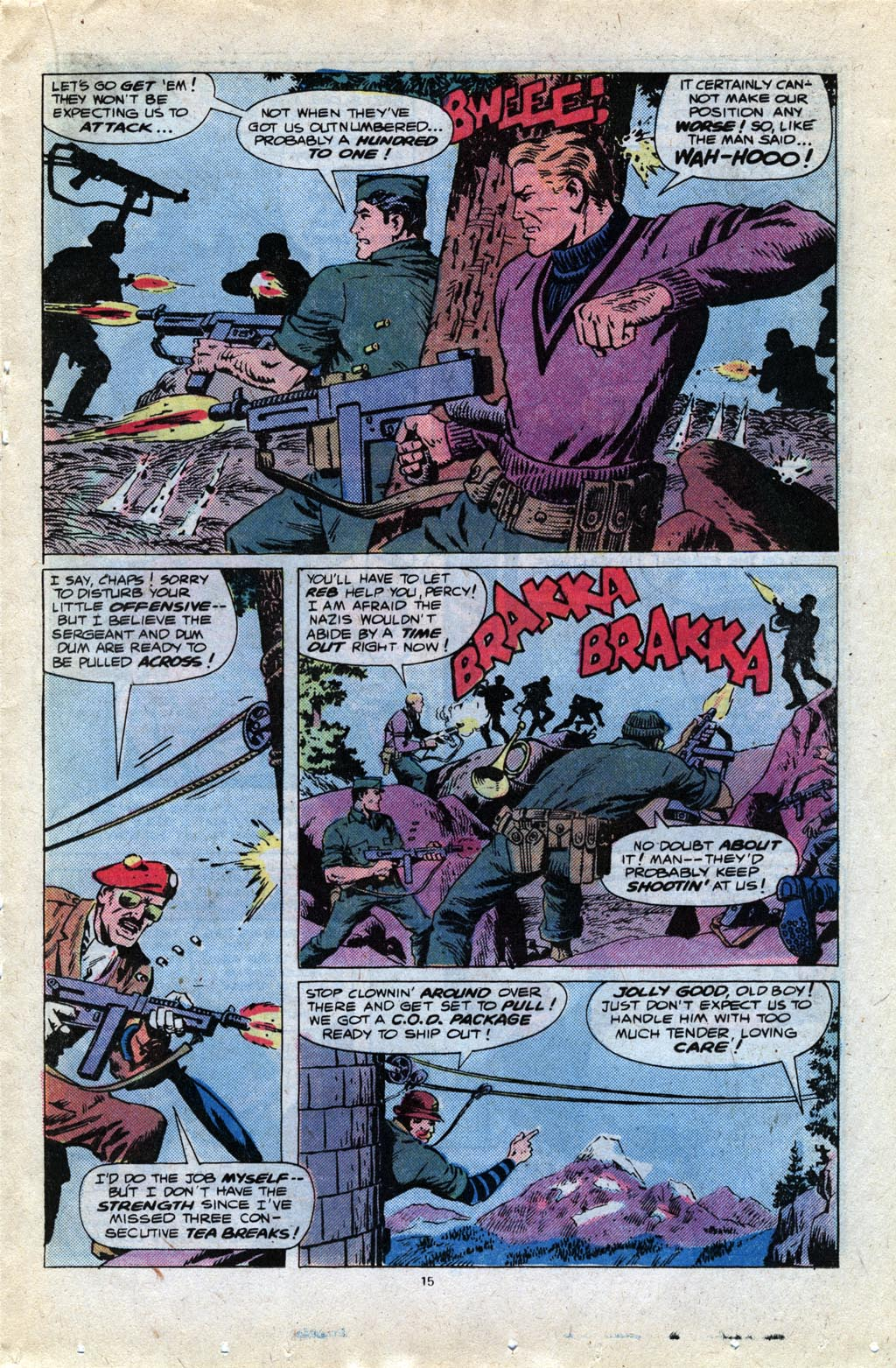 Read online Sgt. Fury comic -  Issue #148 - 17