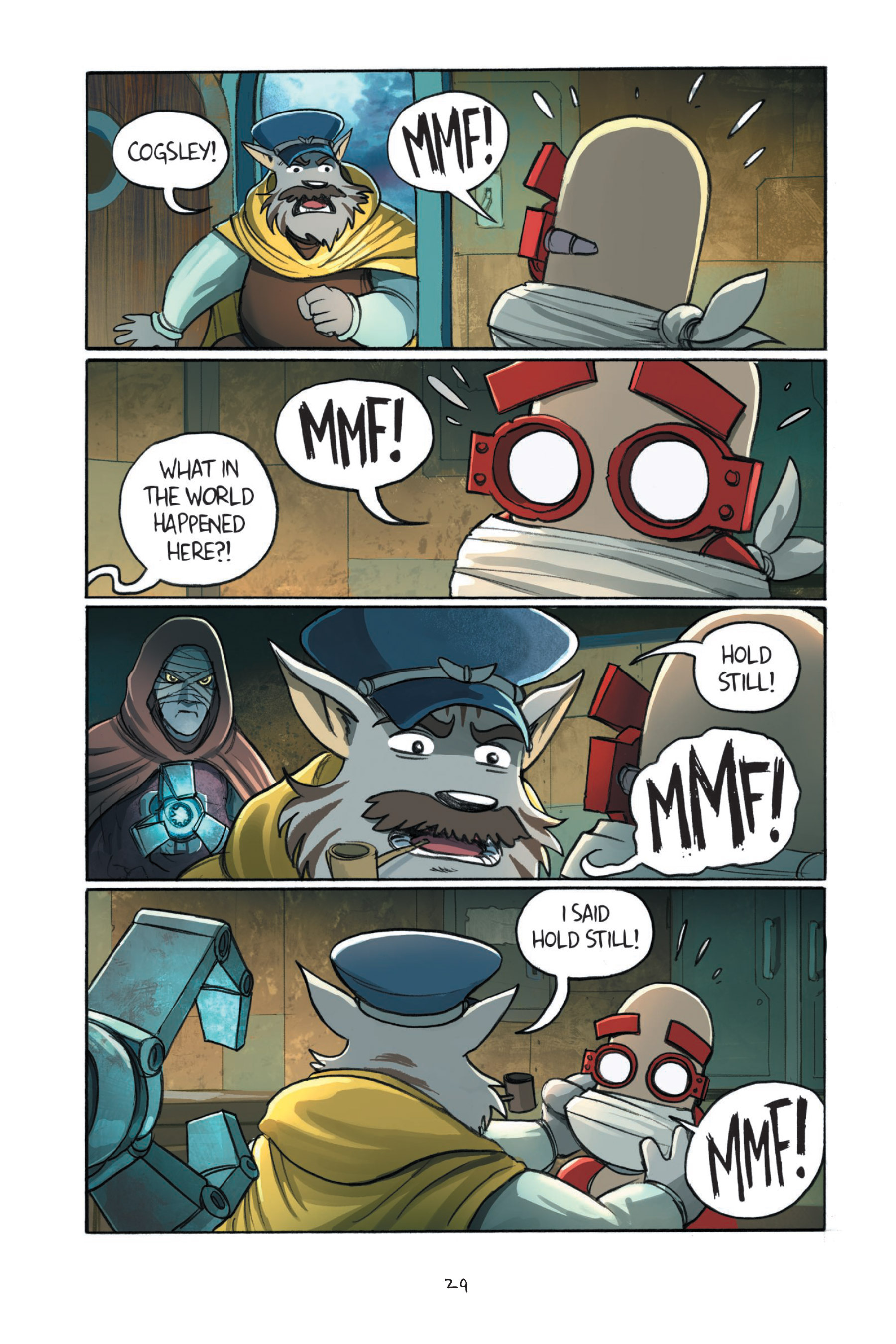 Read online Amulet comic -  Issue #7 - 32