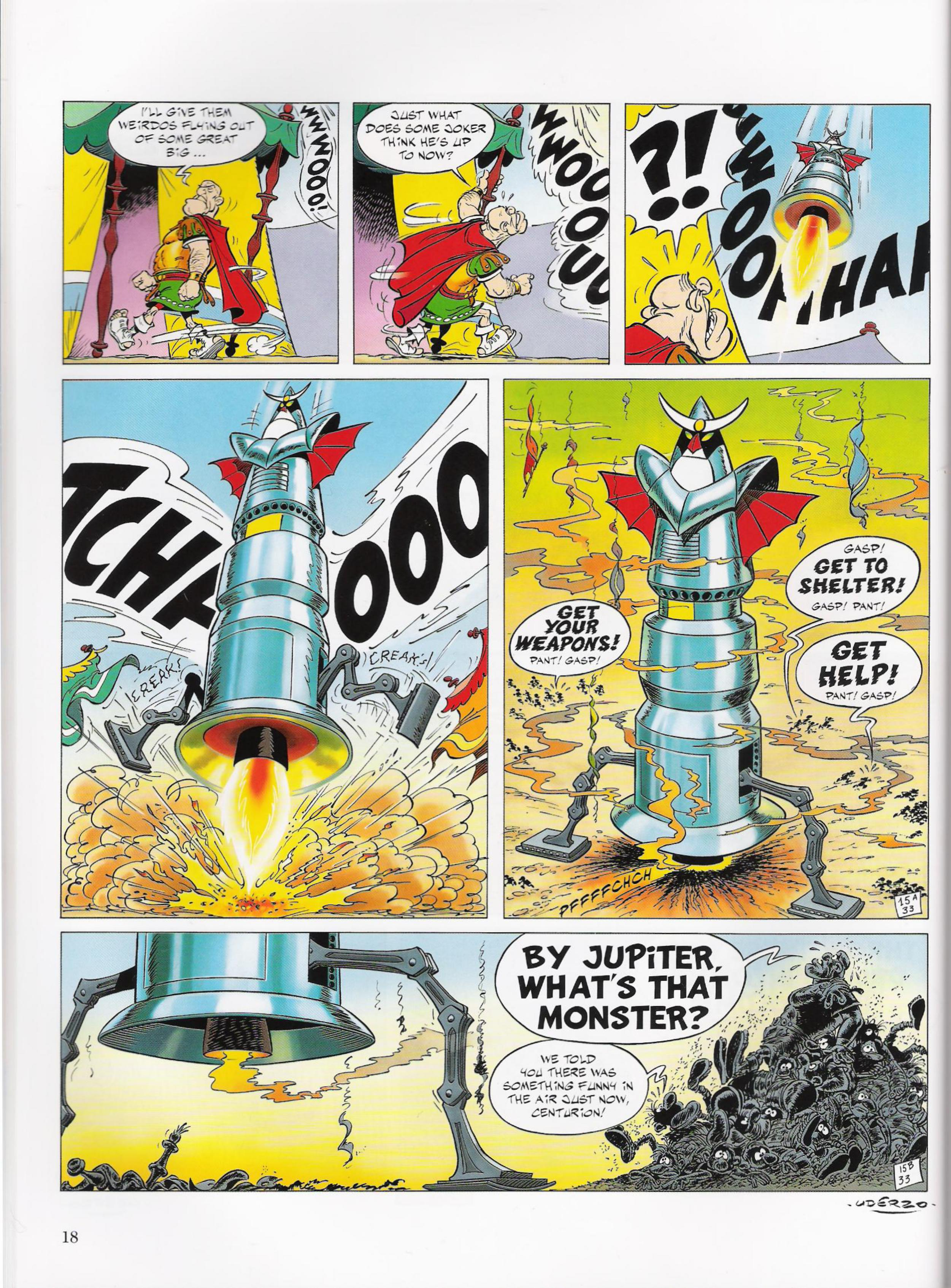 Read online Asterix comic -  Issue #33 - 18