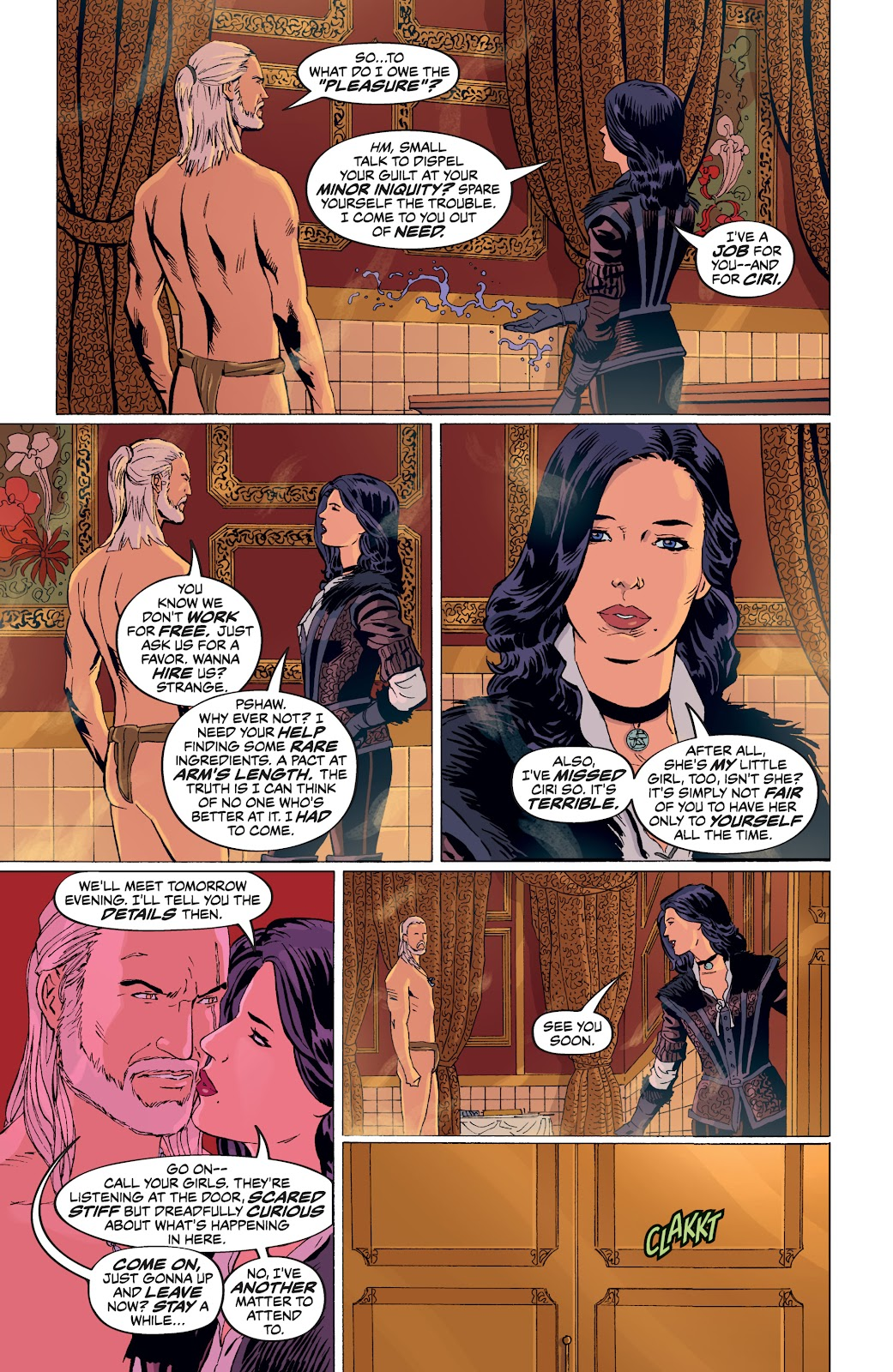 Read online The Witcher Omnibus comic -  Issue # TPB (Part 4) - 48