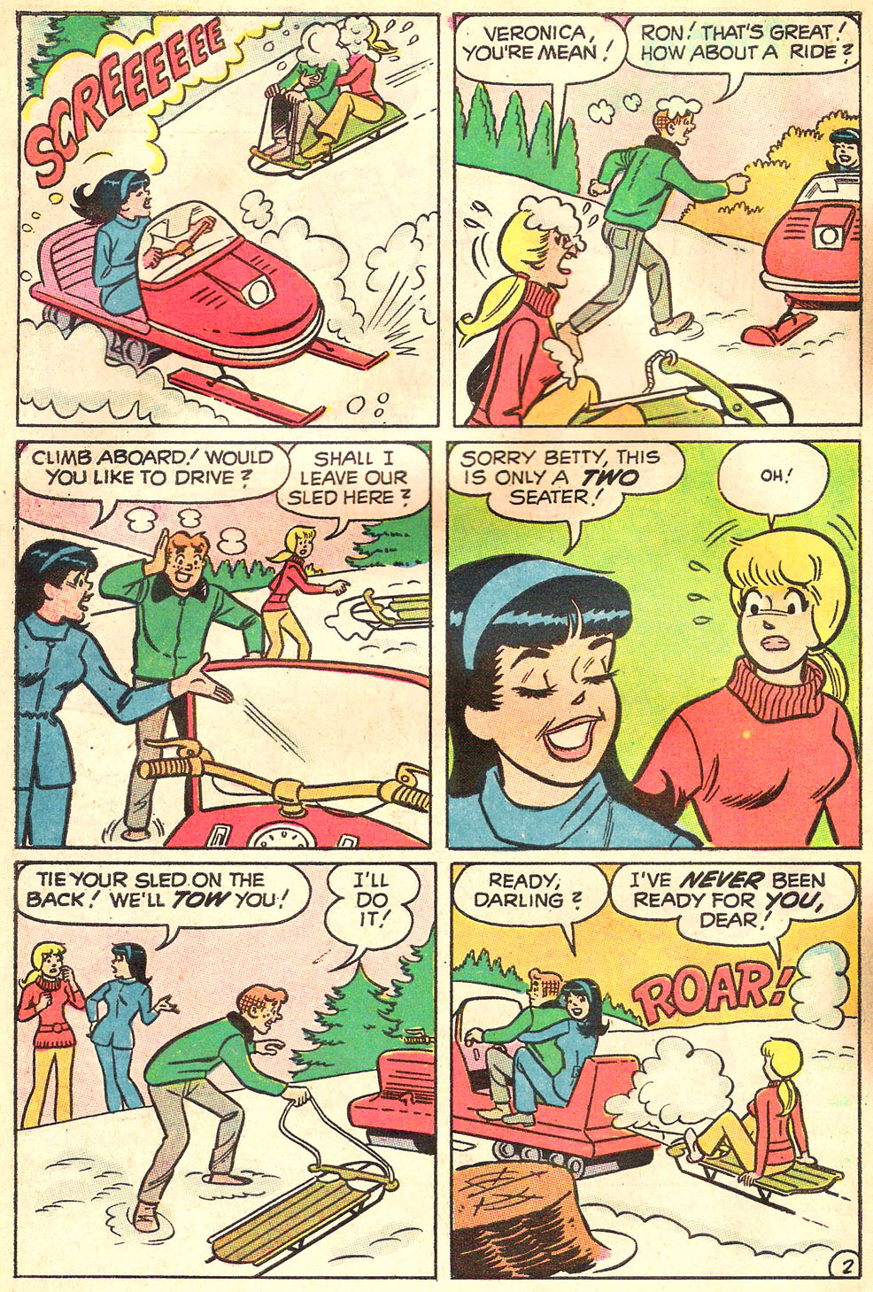 Read online Archie's Girls Betty and Veronica comic -  Issue #172 - 30