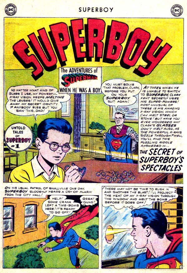Superboy (1949) issue 70 - Page 19