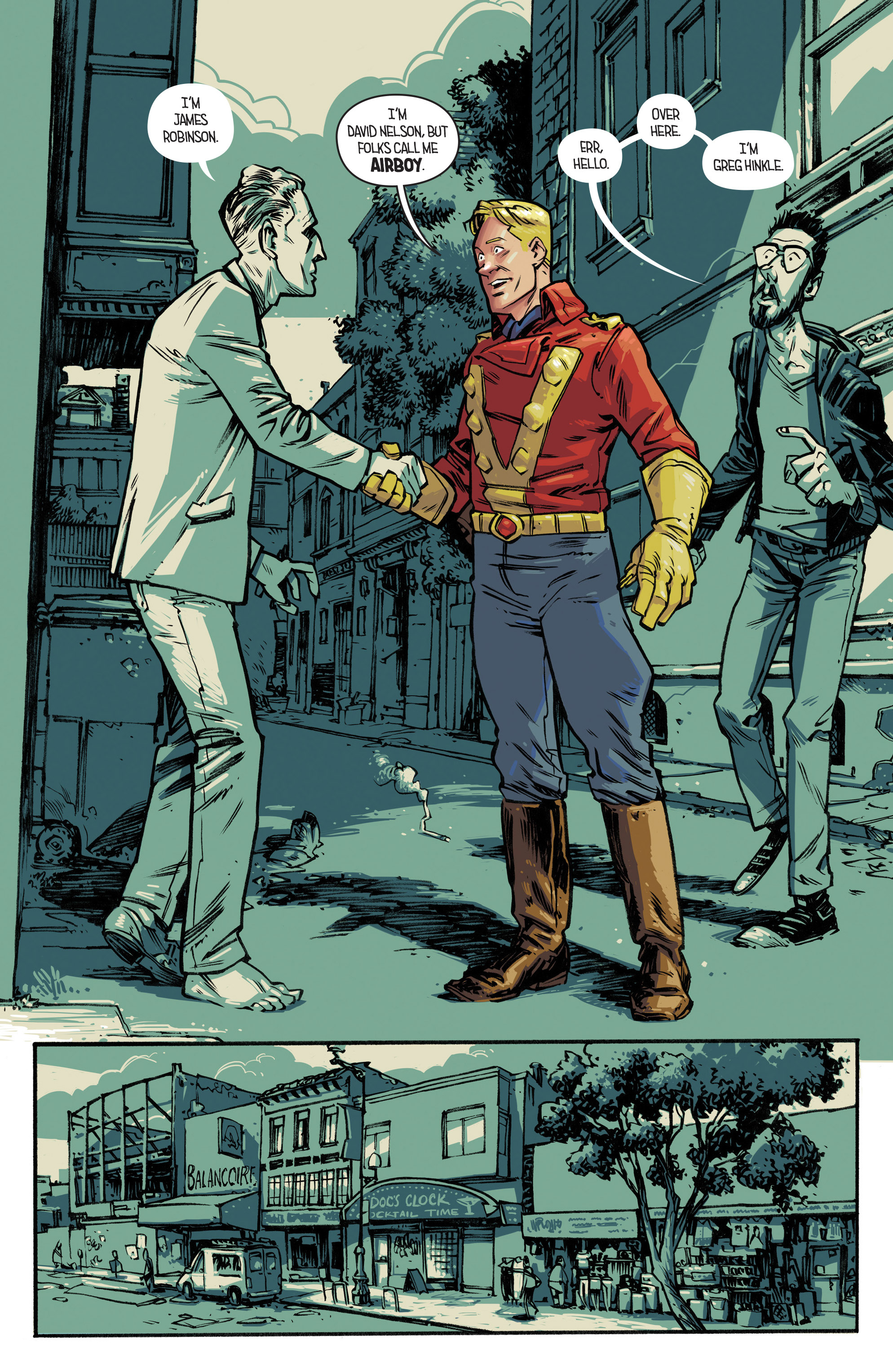 Read online Airboy comic -  Issue #2 - 9