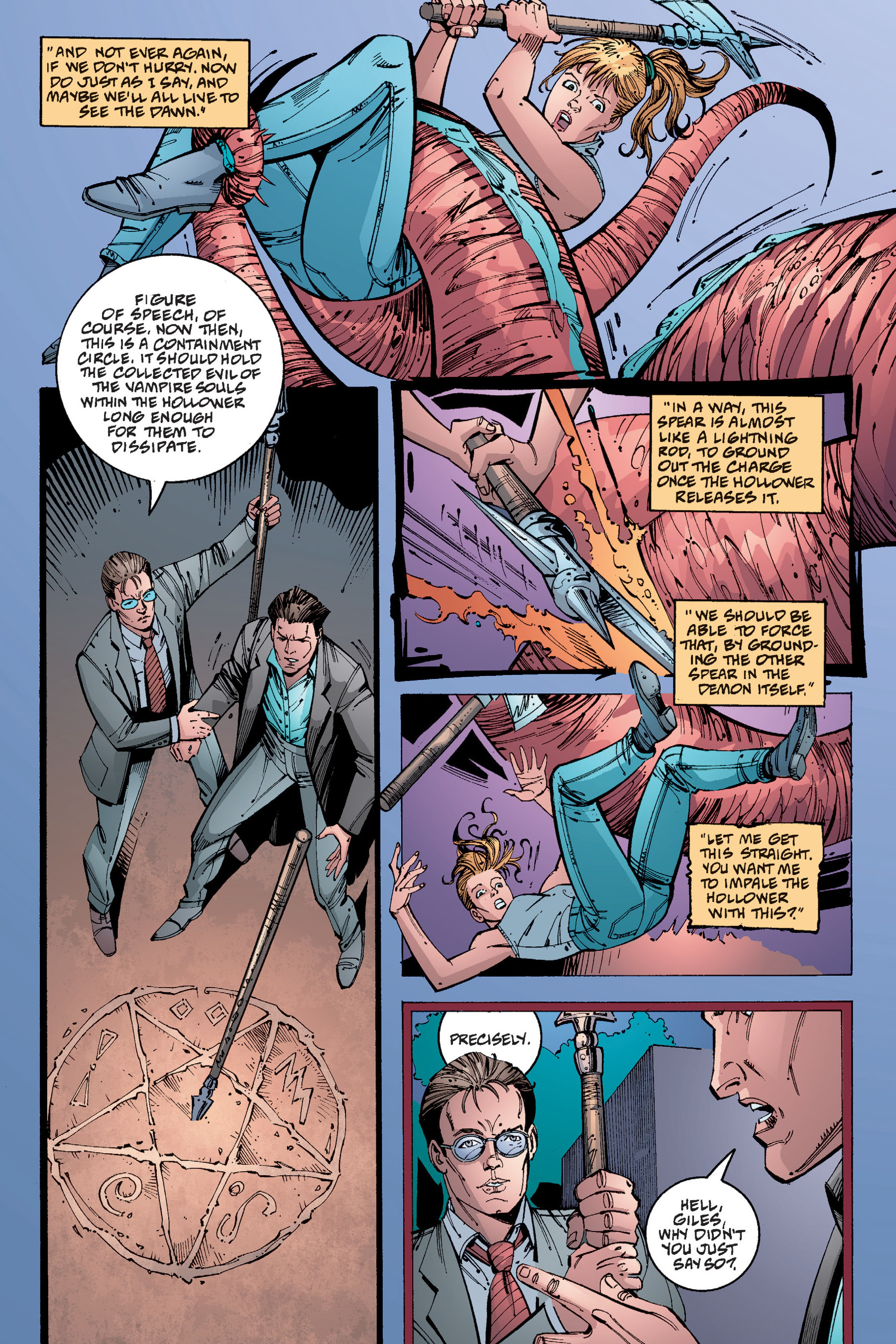 Read online Buffy the Vampire Slayer: Omnibus comic -  Issue # TPB 4 - 337