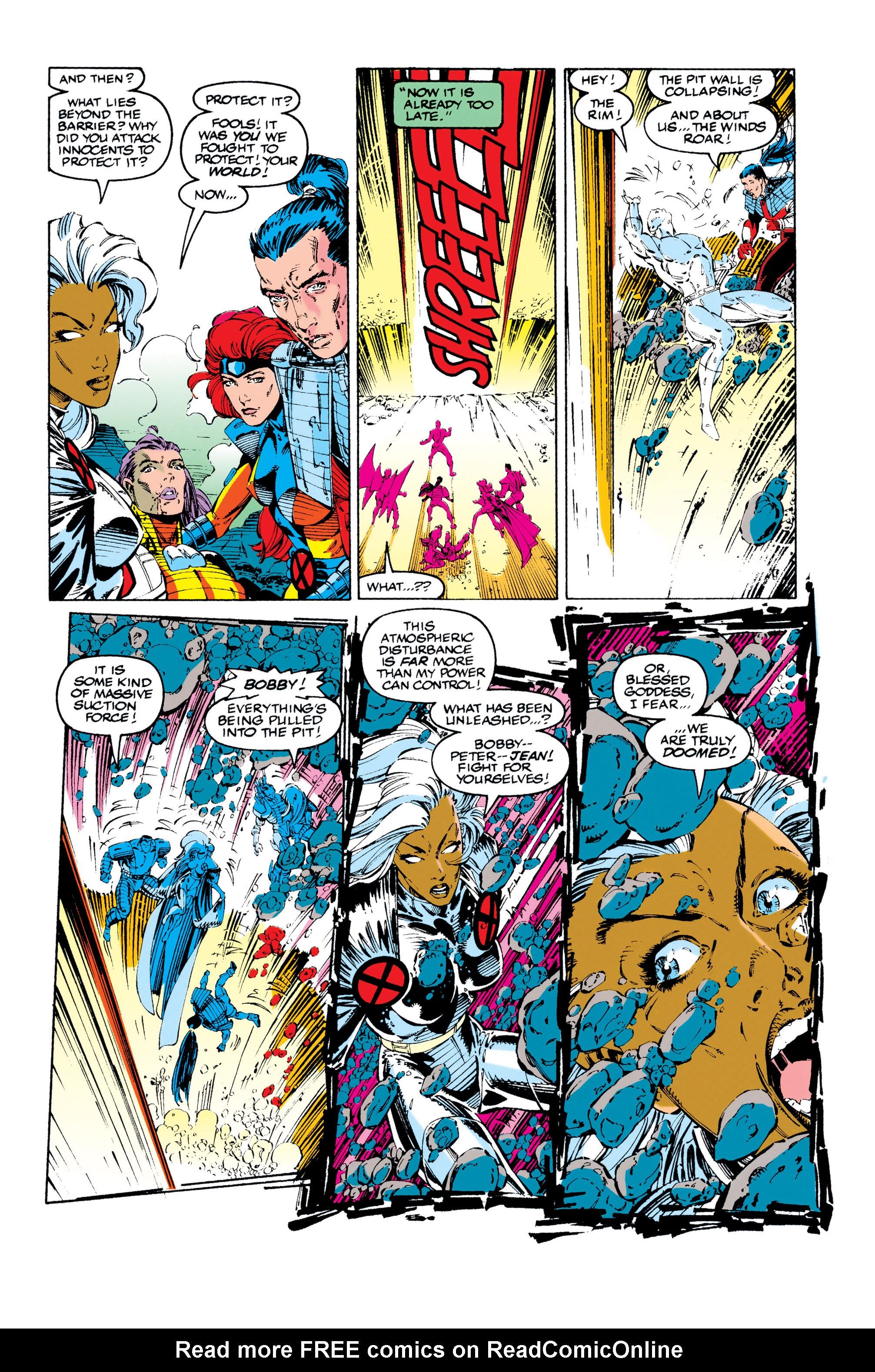 Read online Uncanny X-Men (1963) comic -  Issue #284 - 17