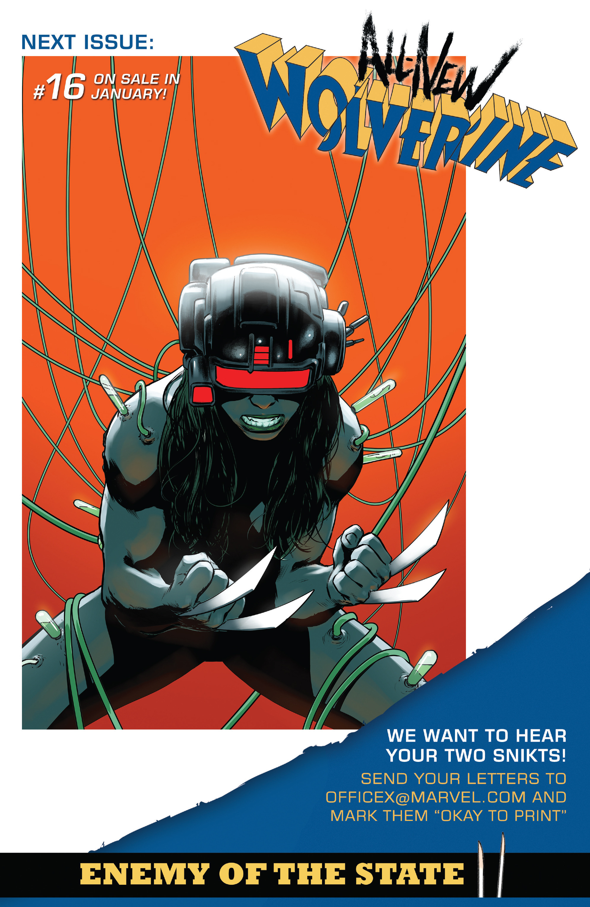 Read online All-New Wolverine (2016) comic -  Issue #15 - 24