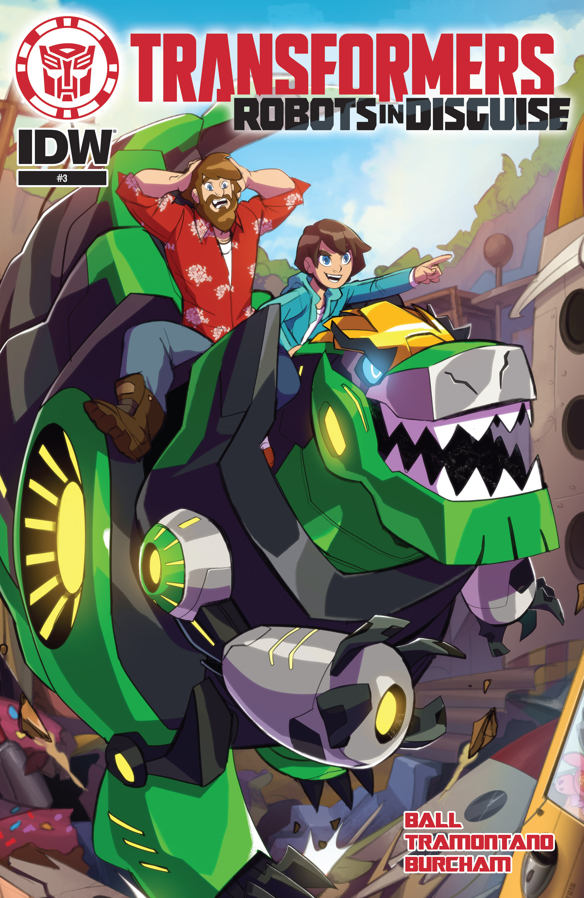 Read online Transformers: Robots In Disguise (2015) comic -  Issue #3 - 1