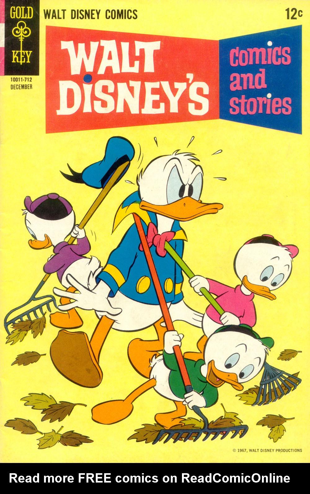 Walt Disneys Comics and Stories 327 Page 1