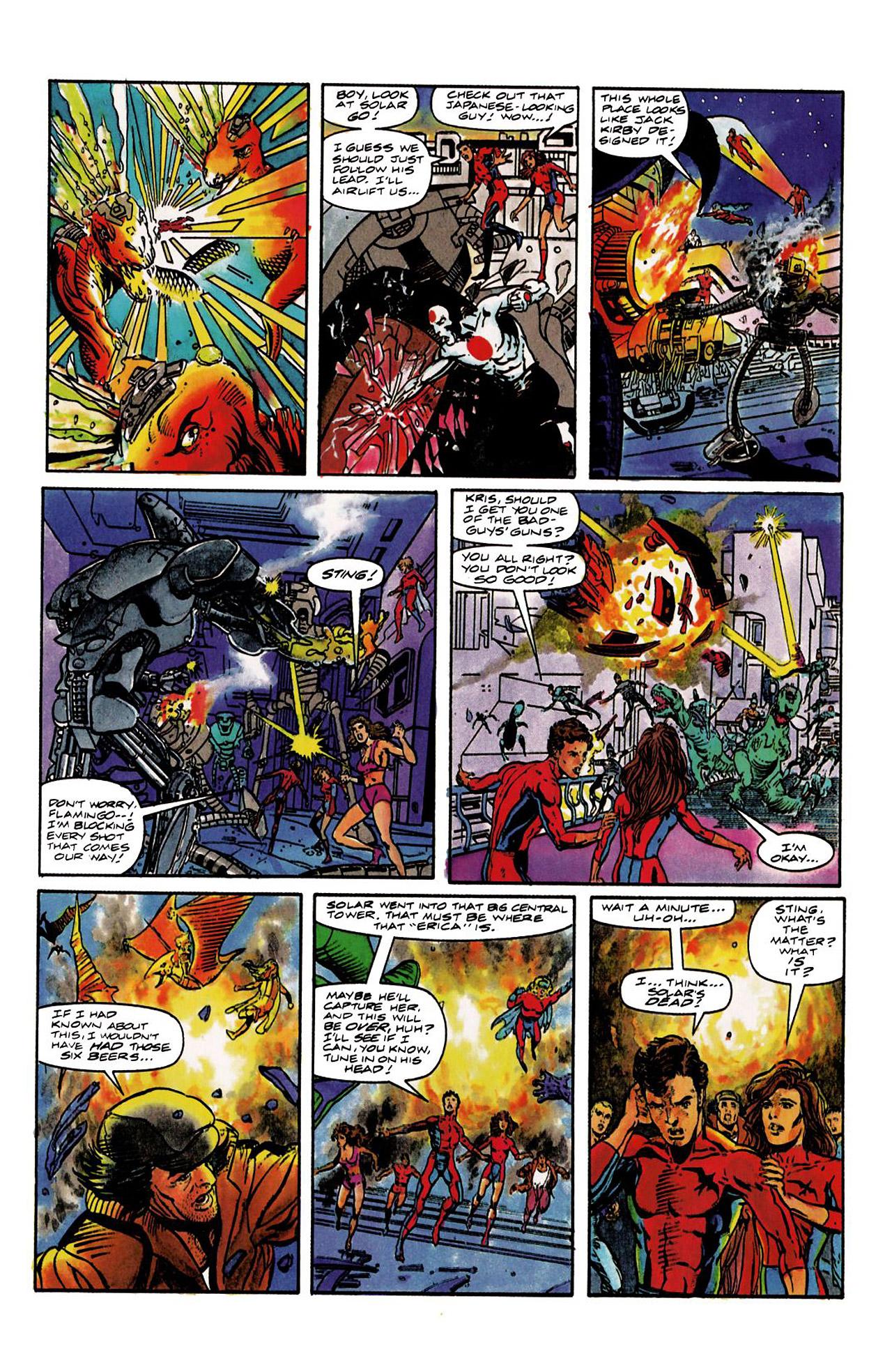 Read online Harbinger (1992) comic -  Issue #8 - 8