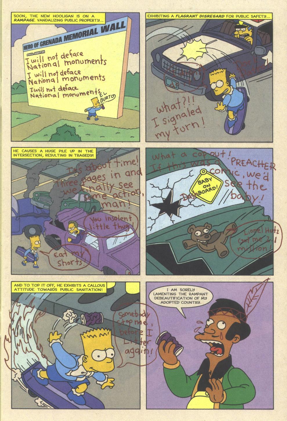 Read online Simpsons Comics comic -  Issue #23 - 29