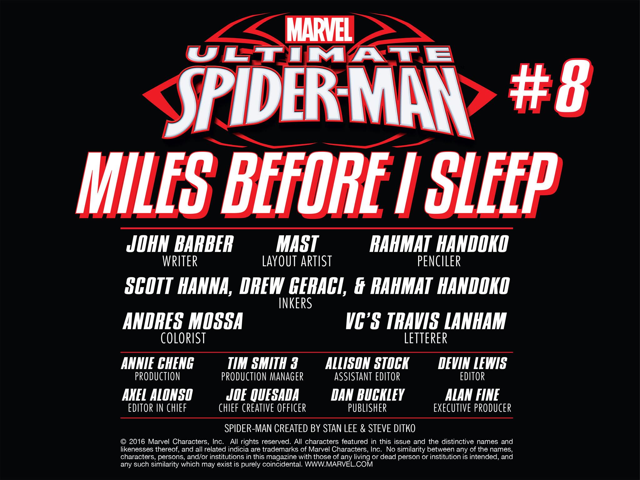 Read online Ultimate Spider-Man (Infinite Comics) (2016) comic -  Issue #8 - 17