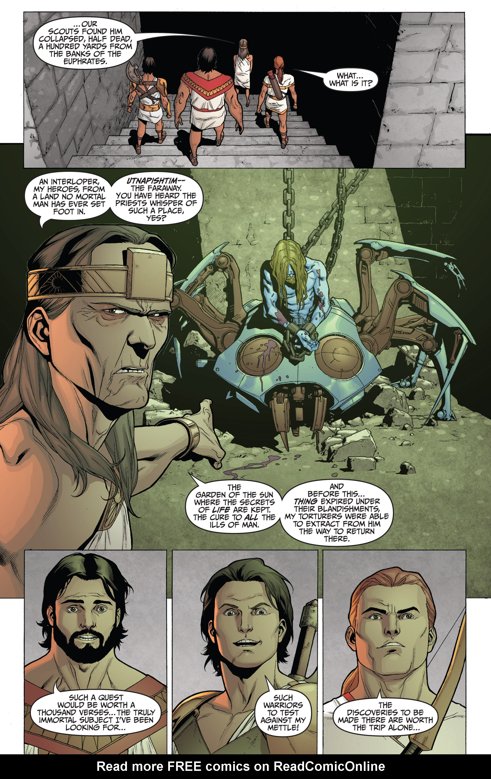 Read online Archer and Armstrong comic -  Issue #Archer and Armstrong _TPB 3 - 10