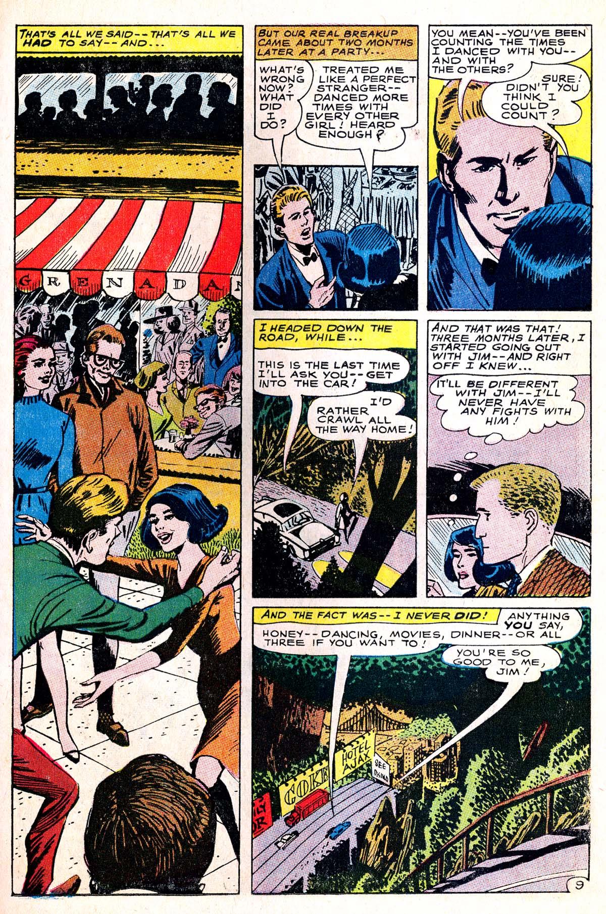 Read online Secret Hearts comic -  Issue #114 - 11