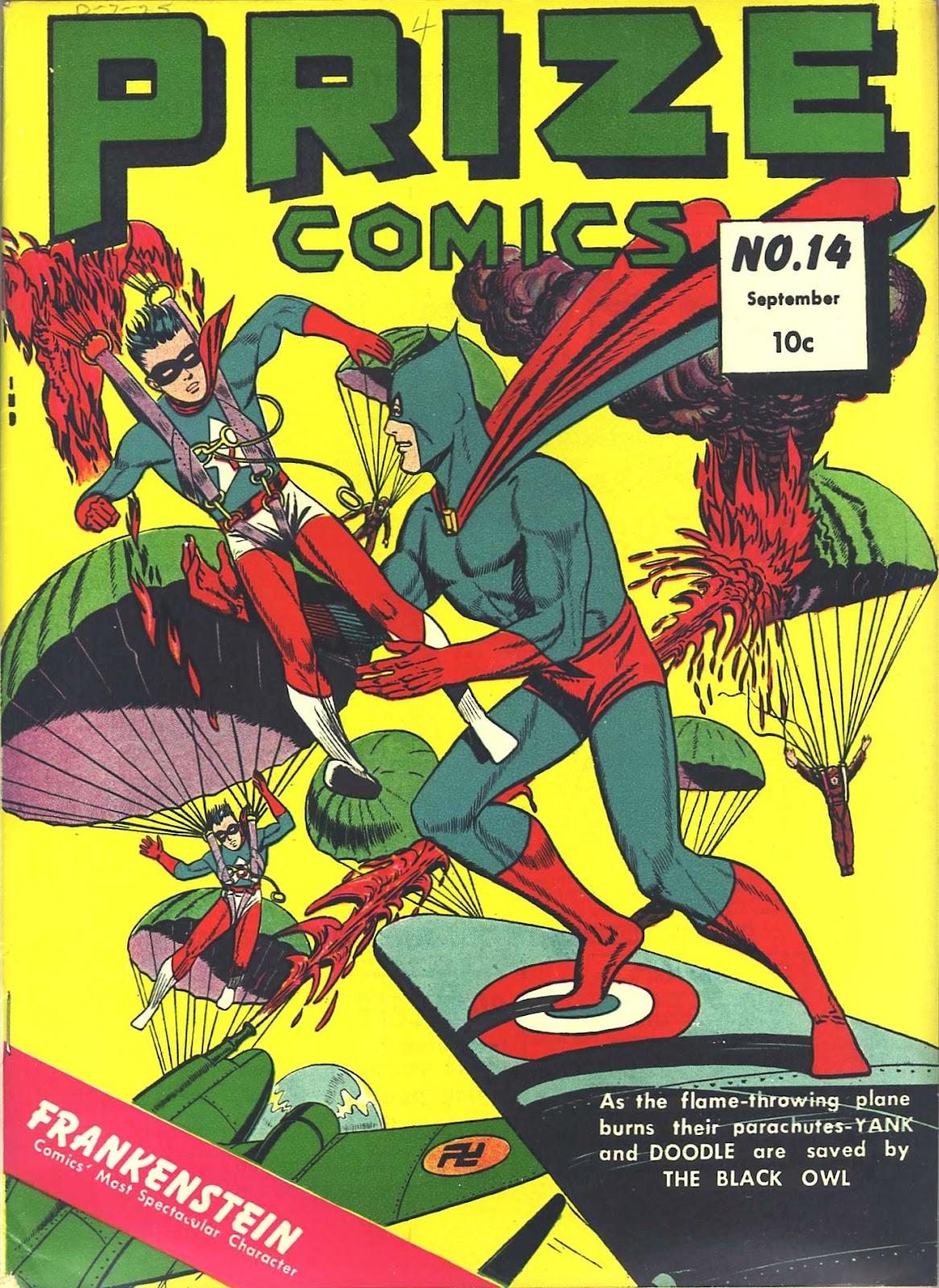 Prize Comics 14 Page 1