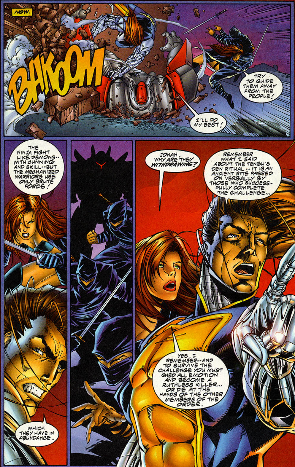 Read online Avengelyne (1996) comic -  Issue #5 - 9