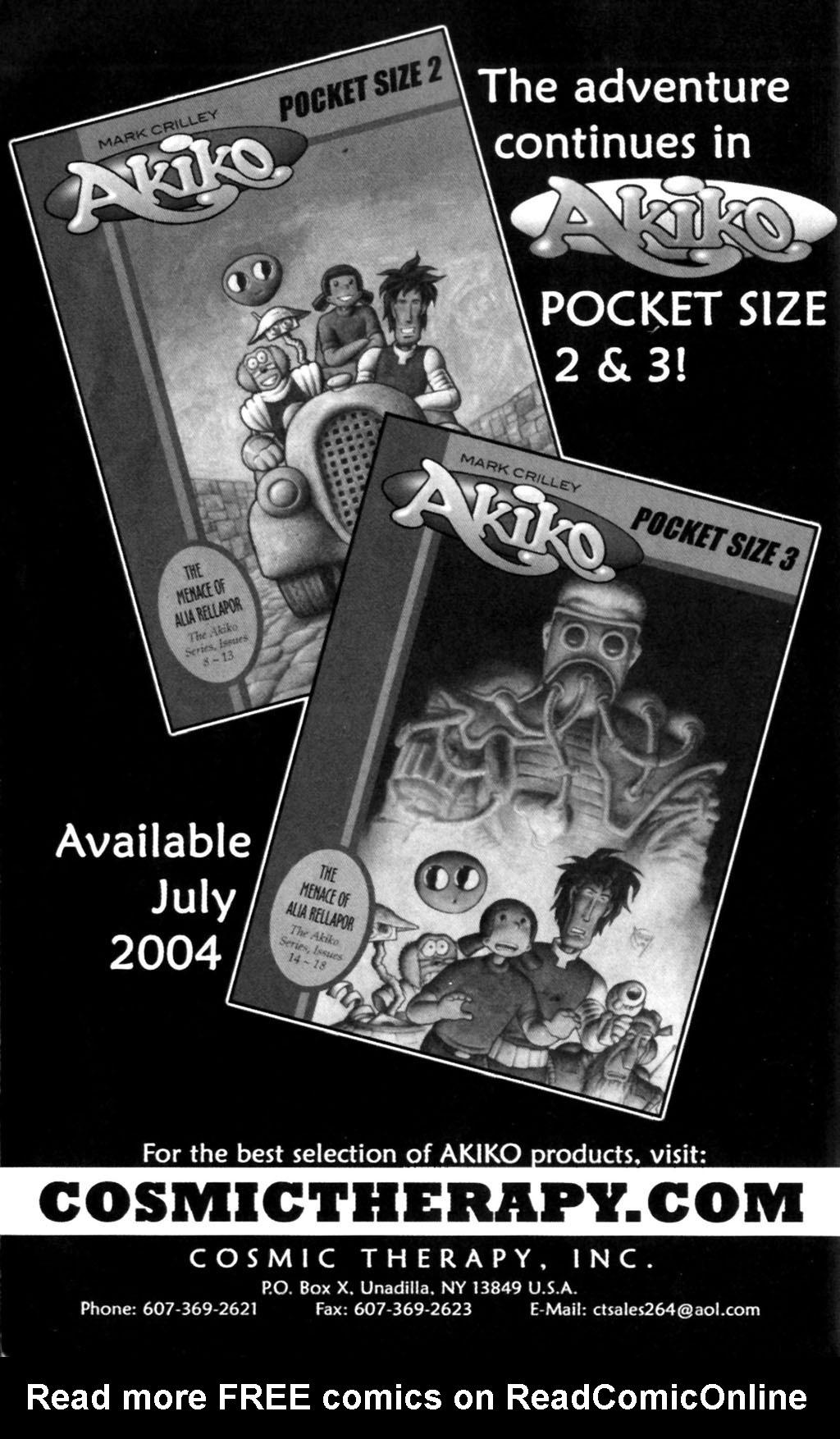 Read online Akiko comic -  Issue #Akiko _TPB 7 - 137