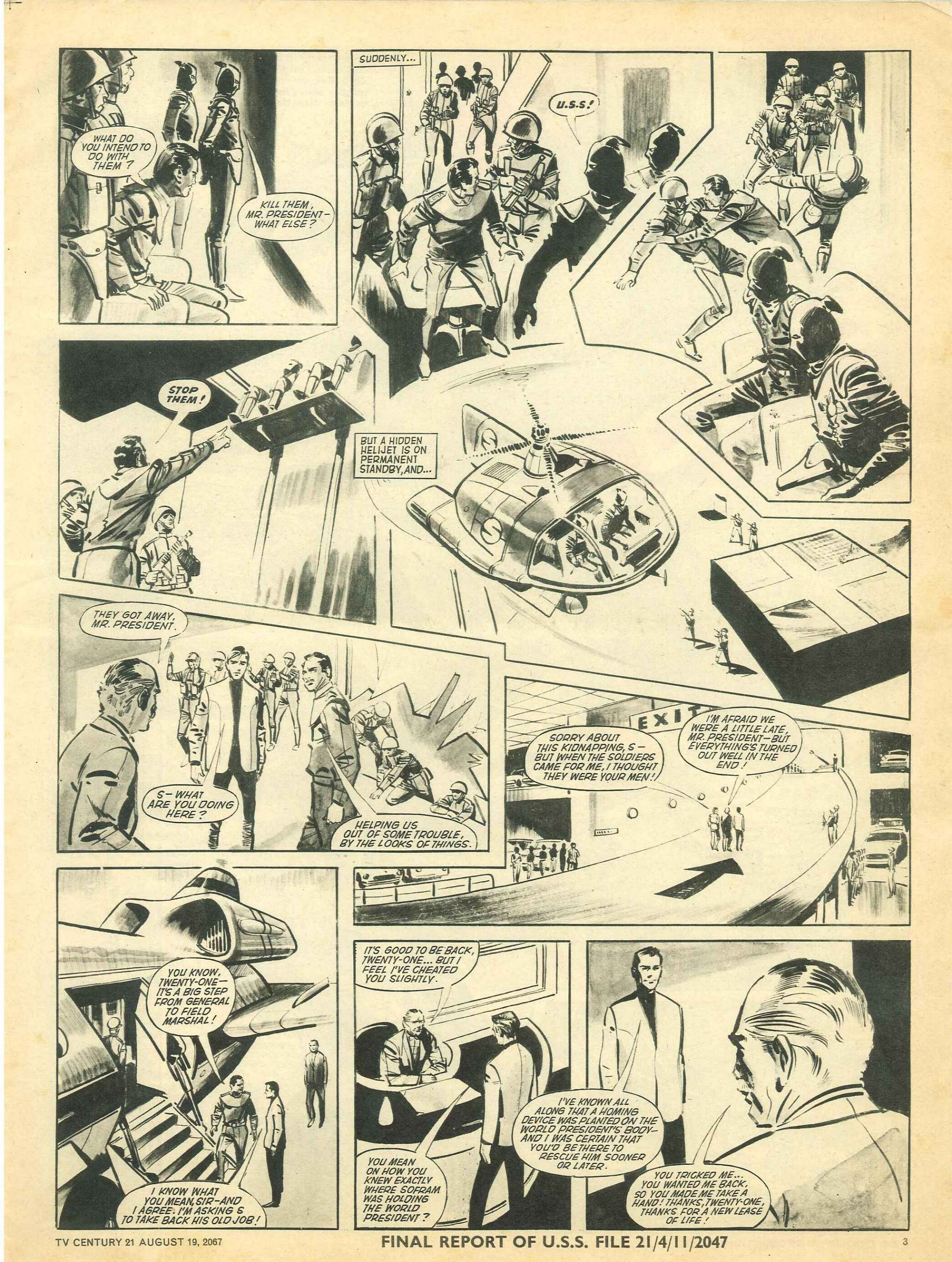 Read online TV Century 21 (TV 21) comic -  Issue #135 - 3