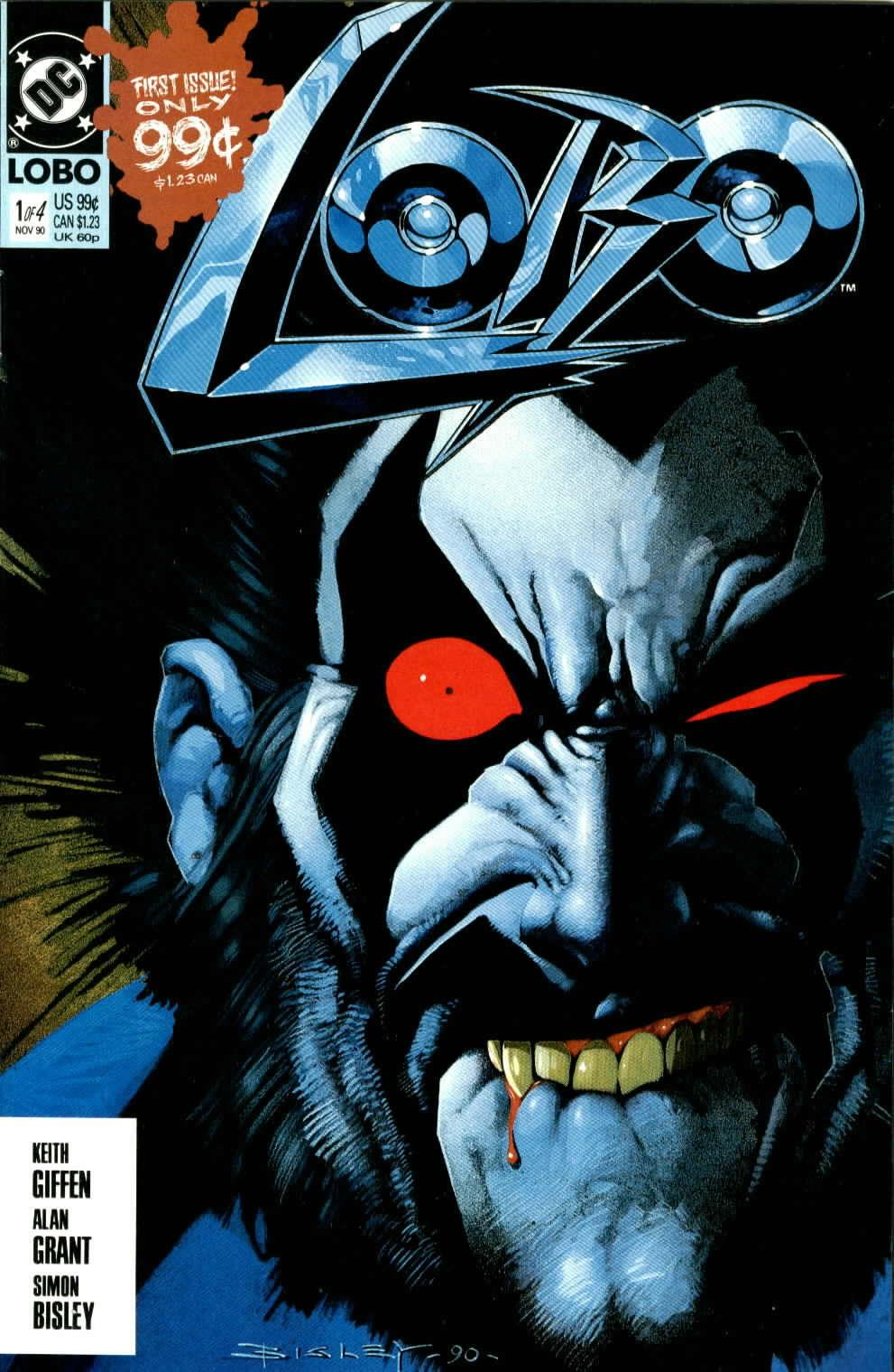 Read online Lobo (1990) comic -  Issue #1 - 1