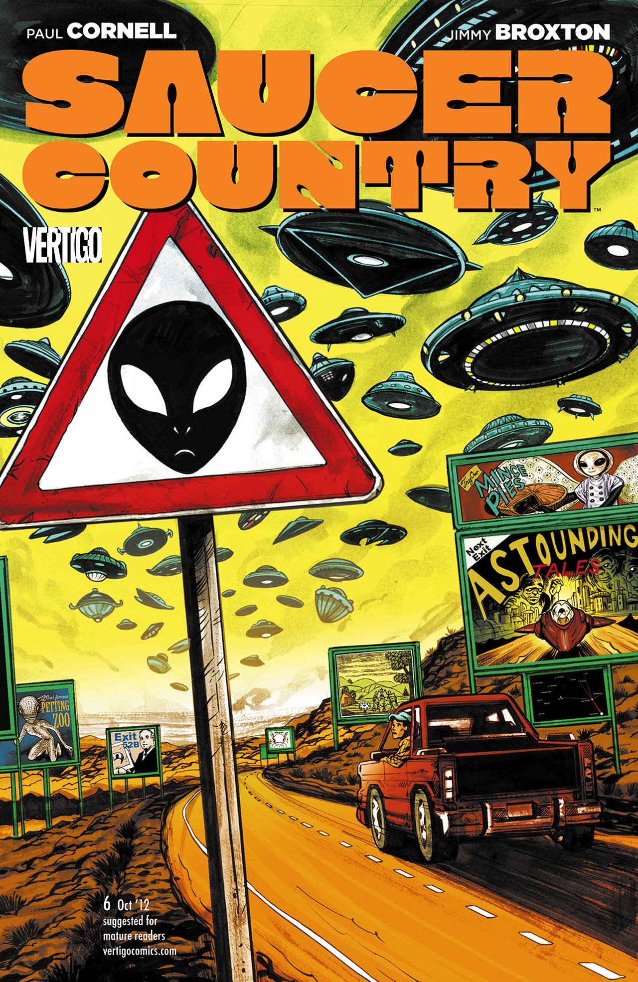 Read online Saucer Country comic -  Issue #6 - 1