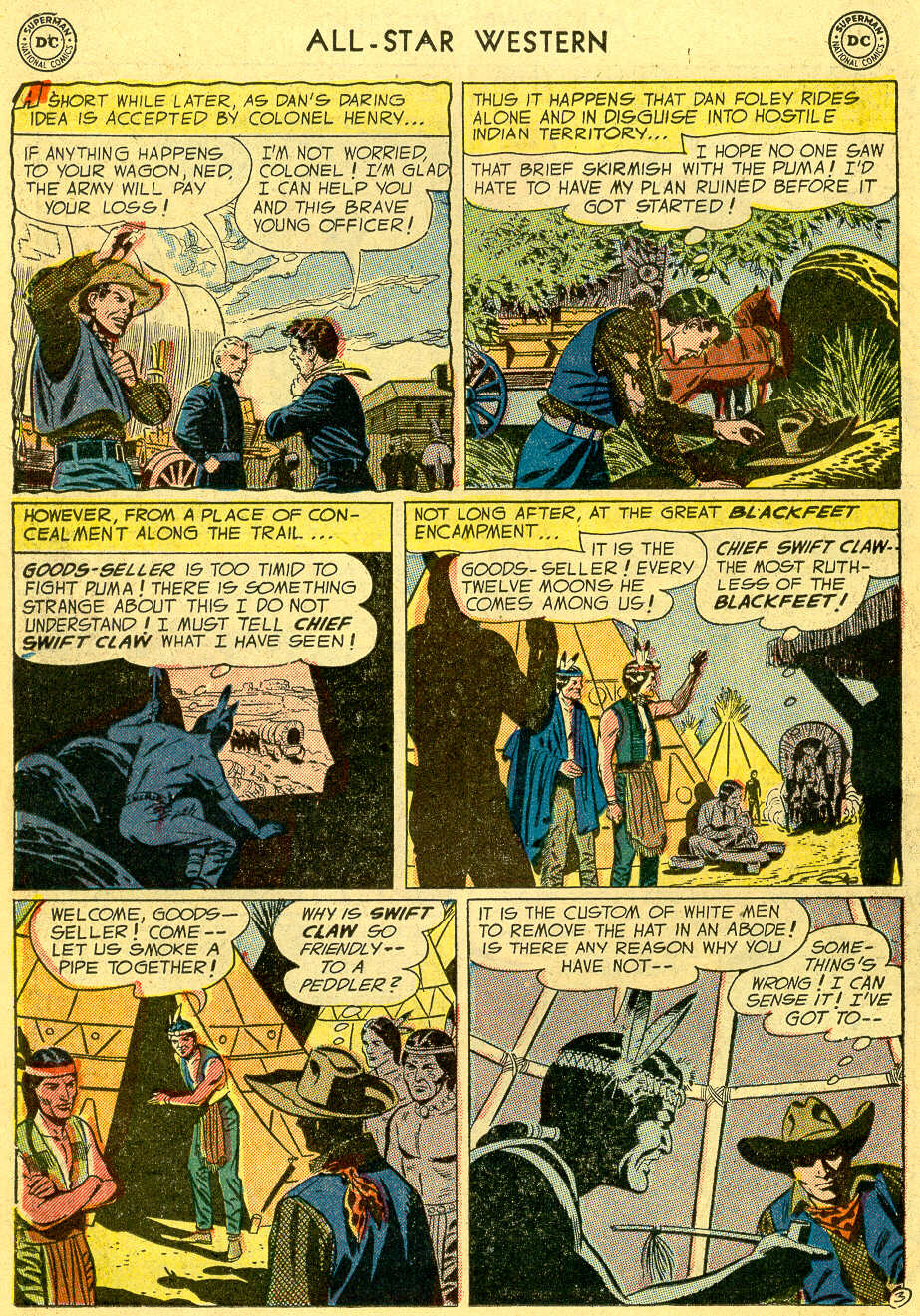 Read online All-Star Western (1951) comic -  Issue #82 - 22