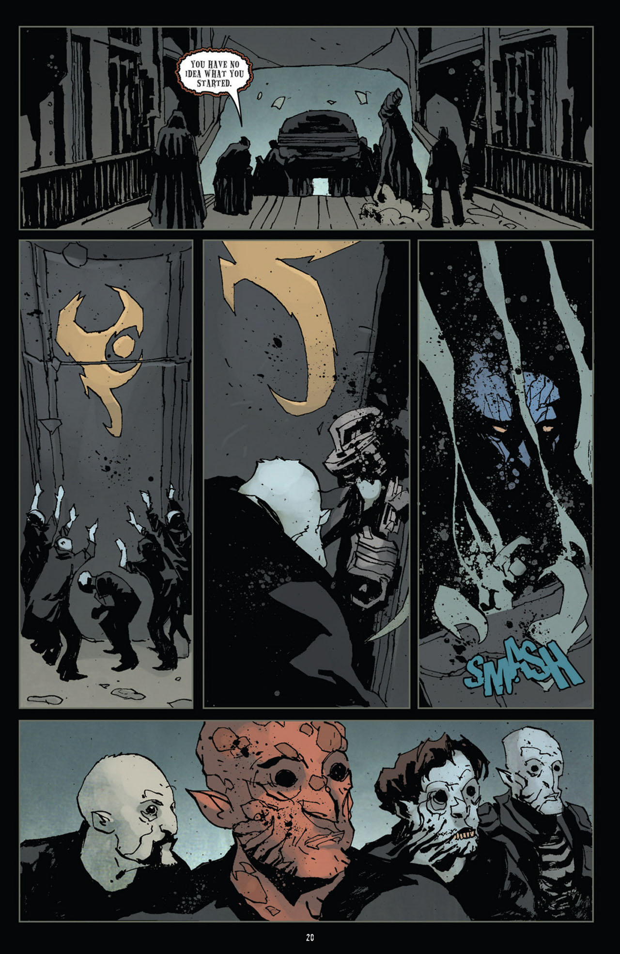 Read online 30 Days of Night (2011) comic -  Issue #11 - 21